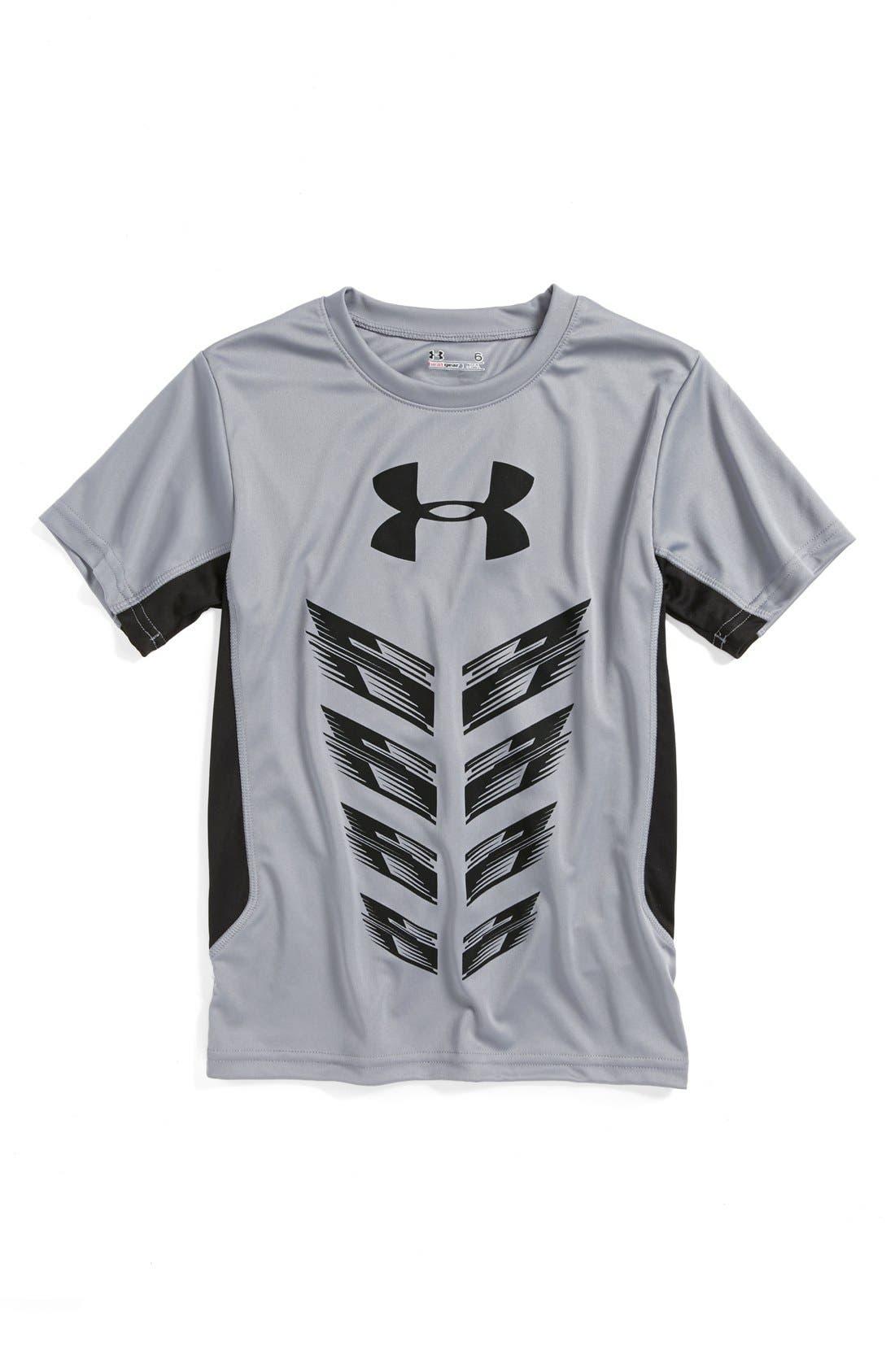 Main Image - Under Armour 'Next Level' HeatGear® T-Shirt (Little Boys)
