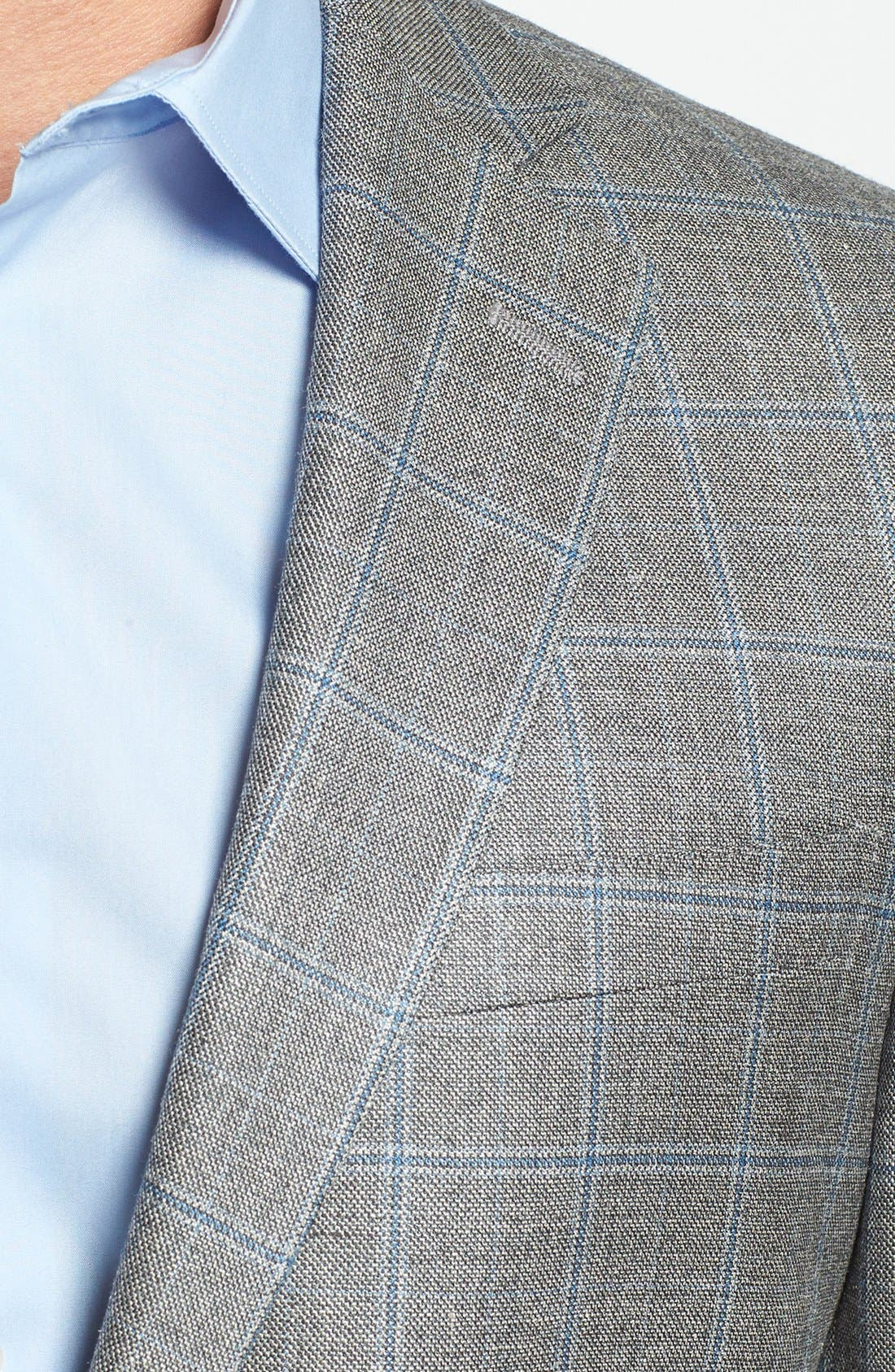 Alternate Image 3  - Hart Schaffner Marx 'New York' Classic Fit Windowpane Sportcoat