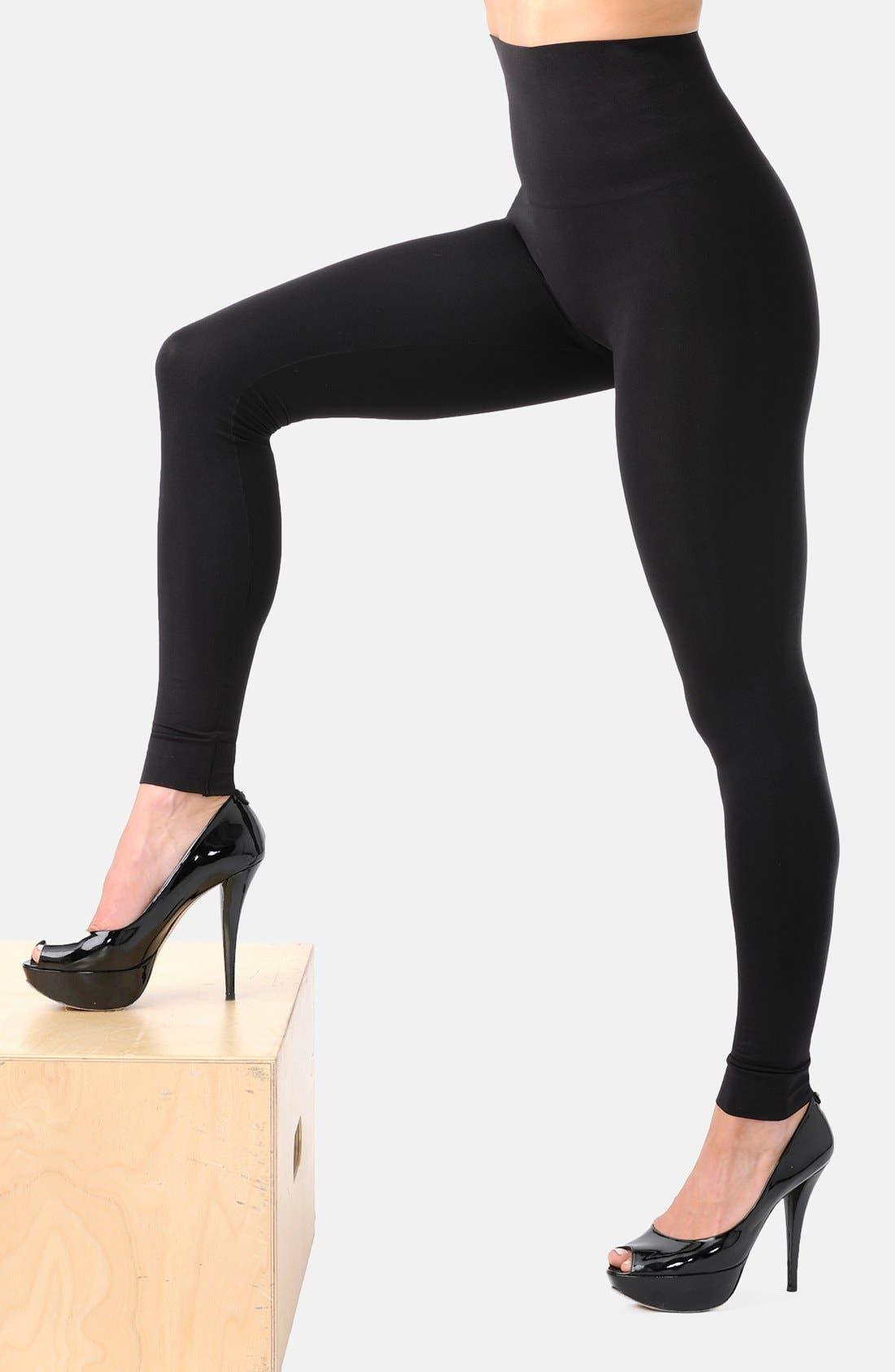 Alternate Image 3  - Belly Bandit® Mother Tucker® Compression Leggings
