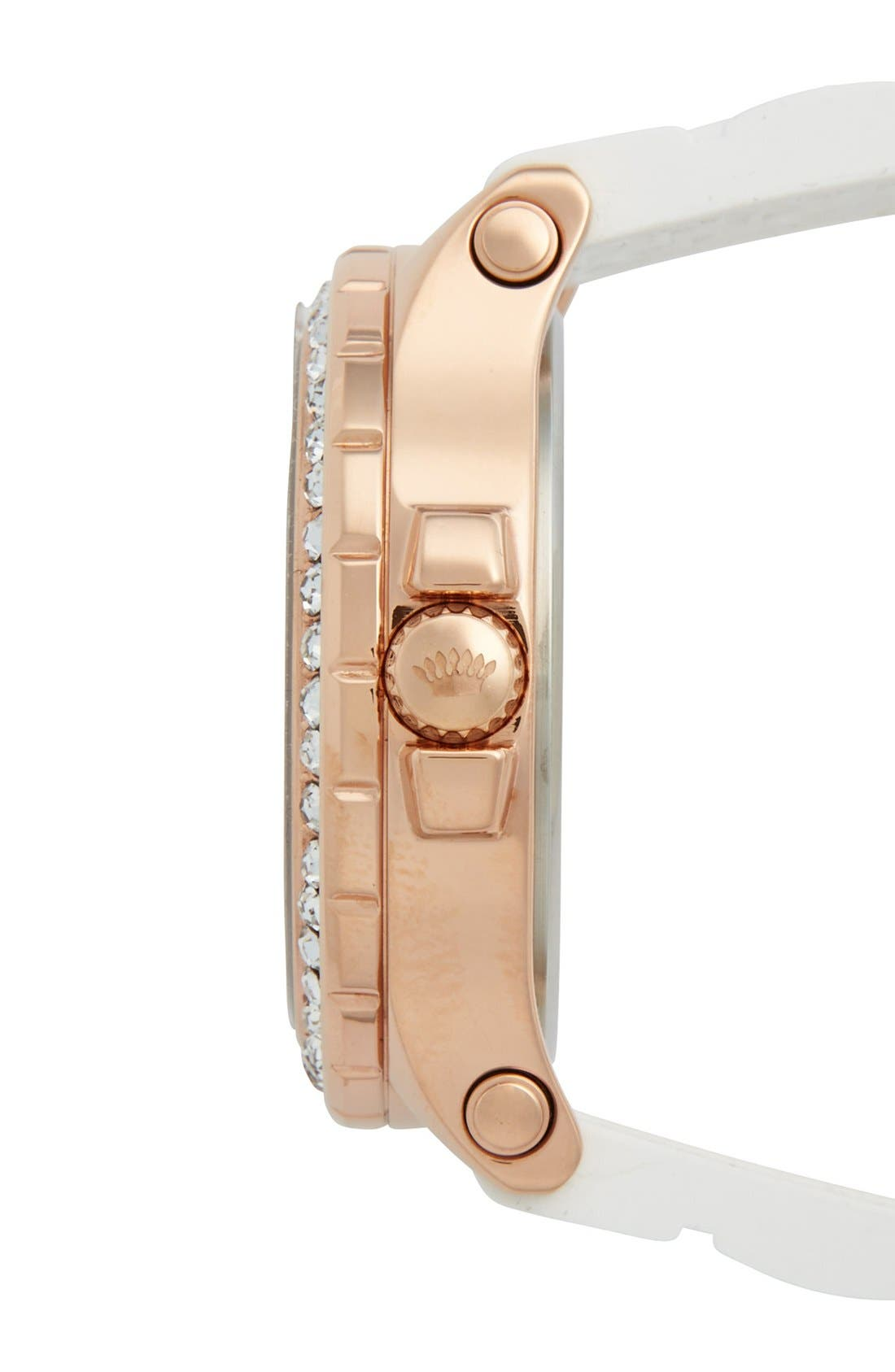 Alternate Image 3  - Juicy Couture 'Pedigree' Jelly Strap Watch, 38mm