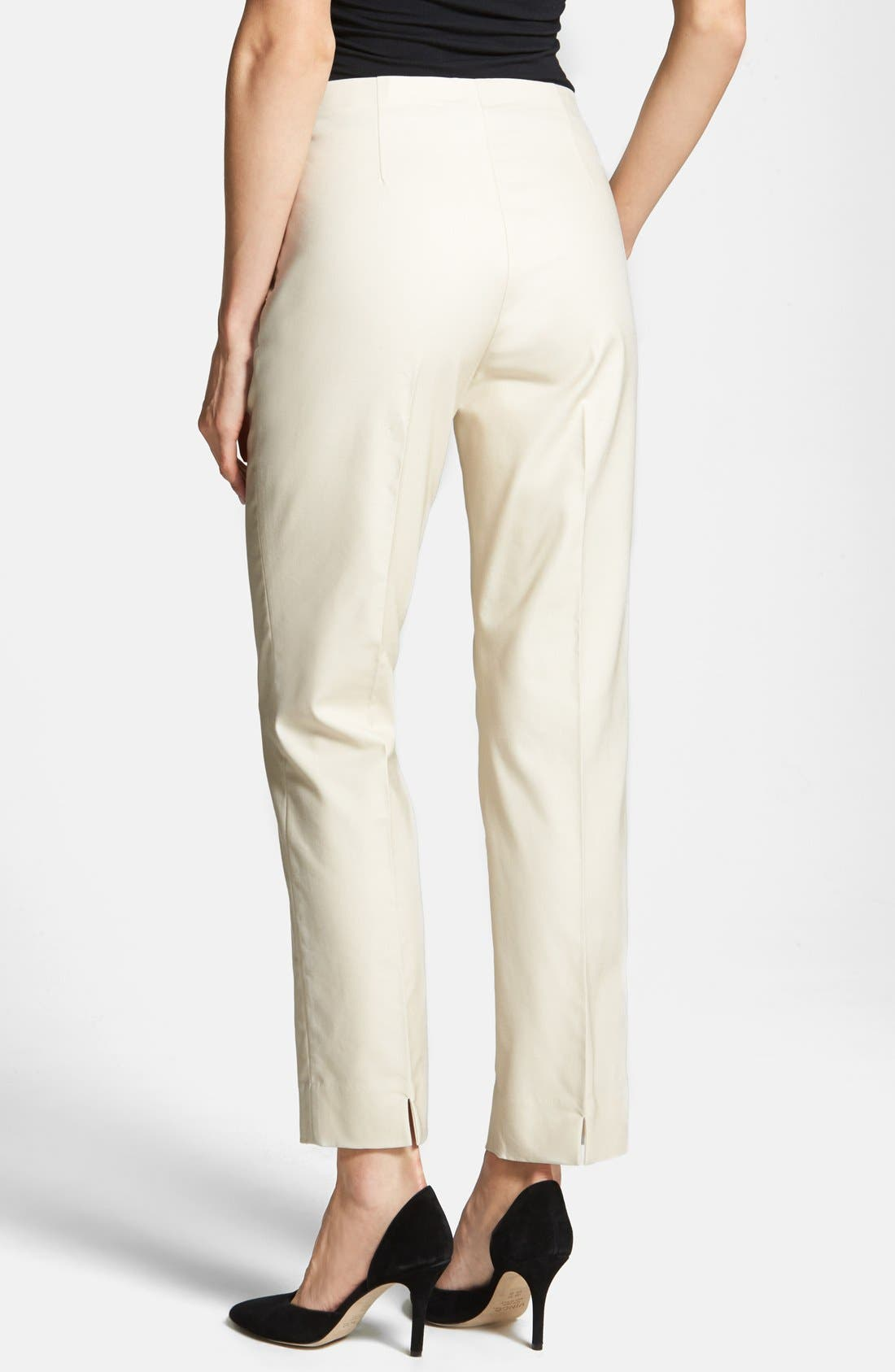 Alternate Image 2  - NIC+ZOE 'The Perfect' Side Zip Ankle Pants (Petite)