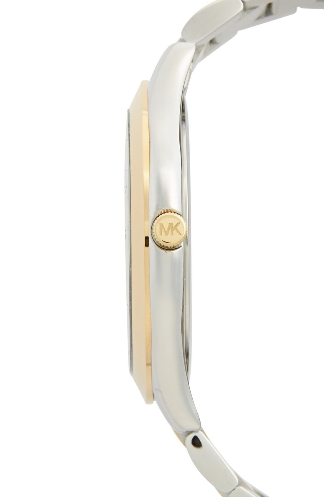 Alternate Image 3  - Michael Kors 'Slim Runway' Bracelet Watch, 42mm