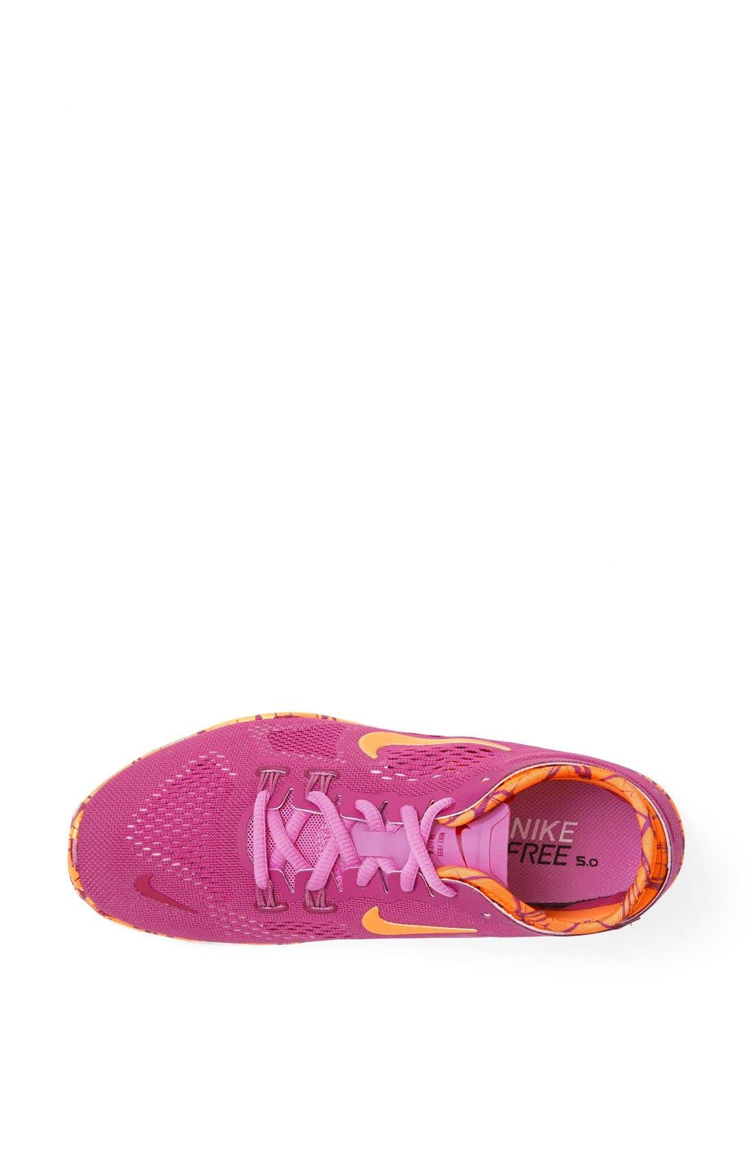 Alternate Image 2  - Nike 'Free 5.0 TR Fit 4' Print Training Shoe (Women)