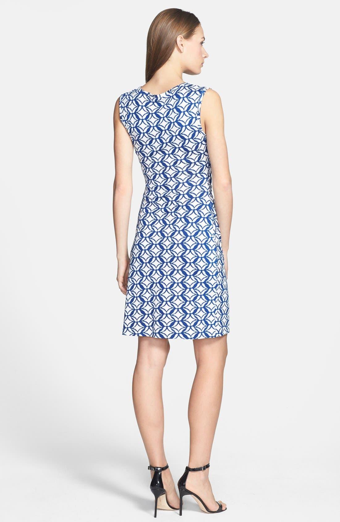 Alternate Image 2  - Diane von Furstenberg 'Selene' Silk Jersey A-Line Dress