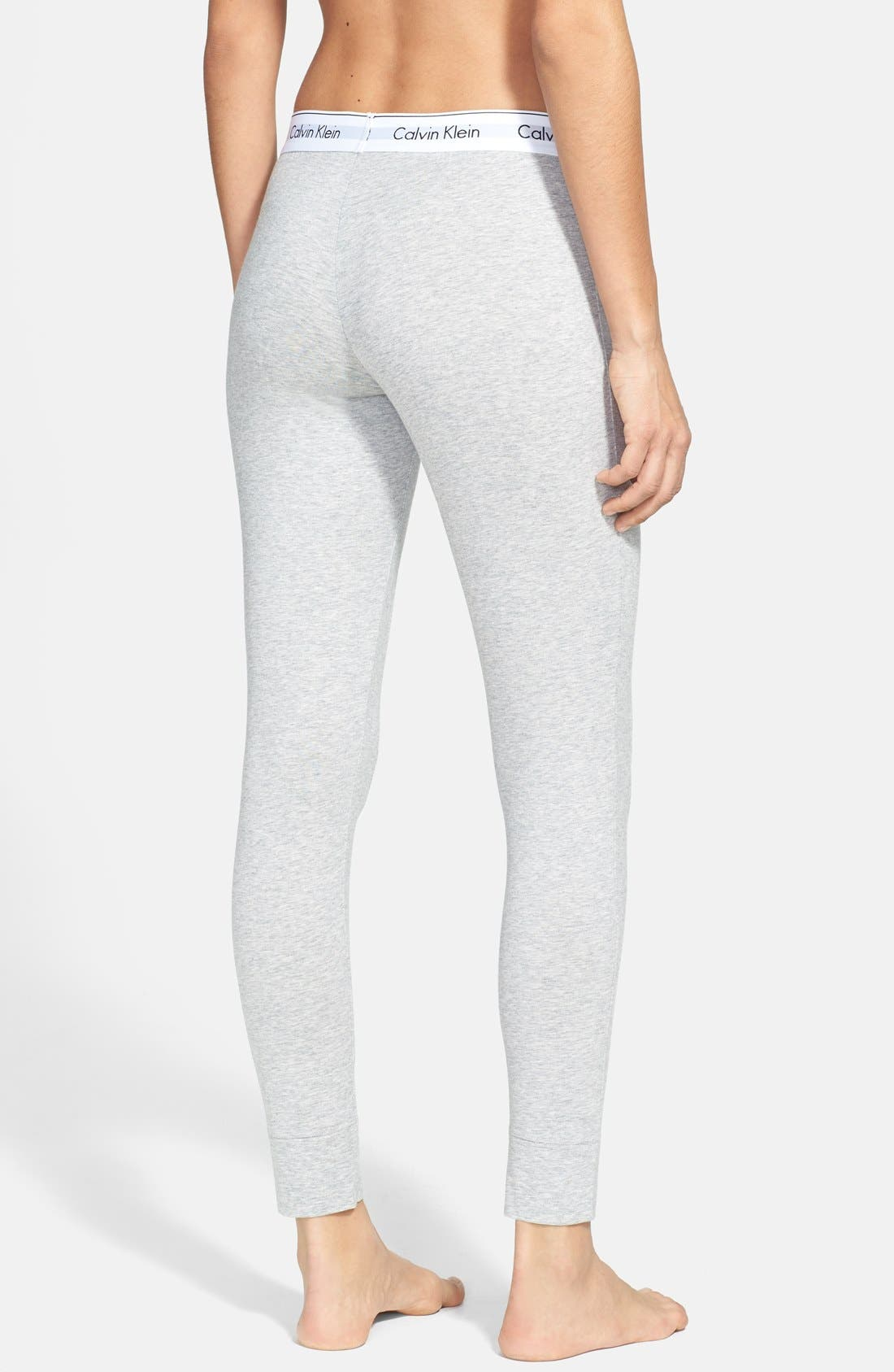 Alternate Image 2  - Calvin Klein Modern Cotton Lounge Pants