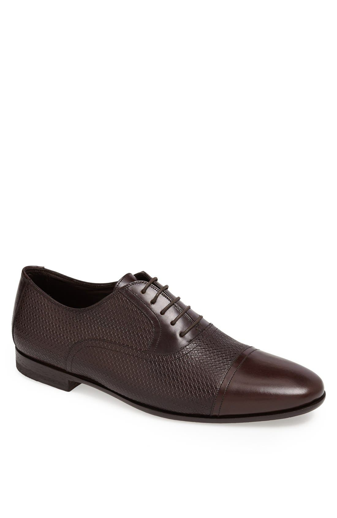 Main Image - Canali Cap Toe Oxford (Men)