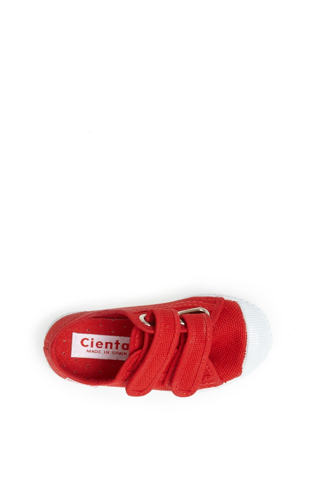Canvas Sneaker,                             Alternate thumbnail 3, color,                             Red