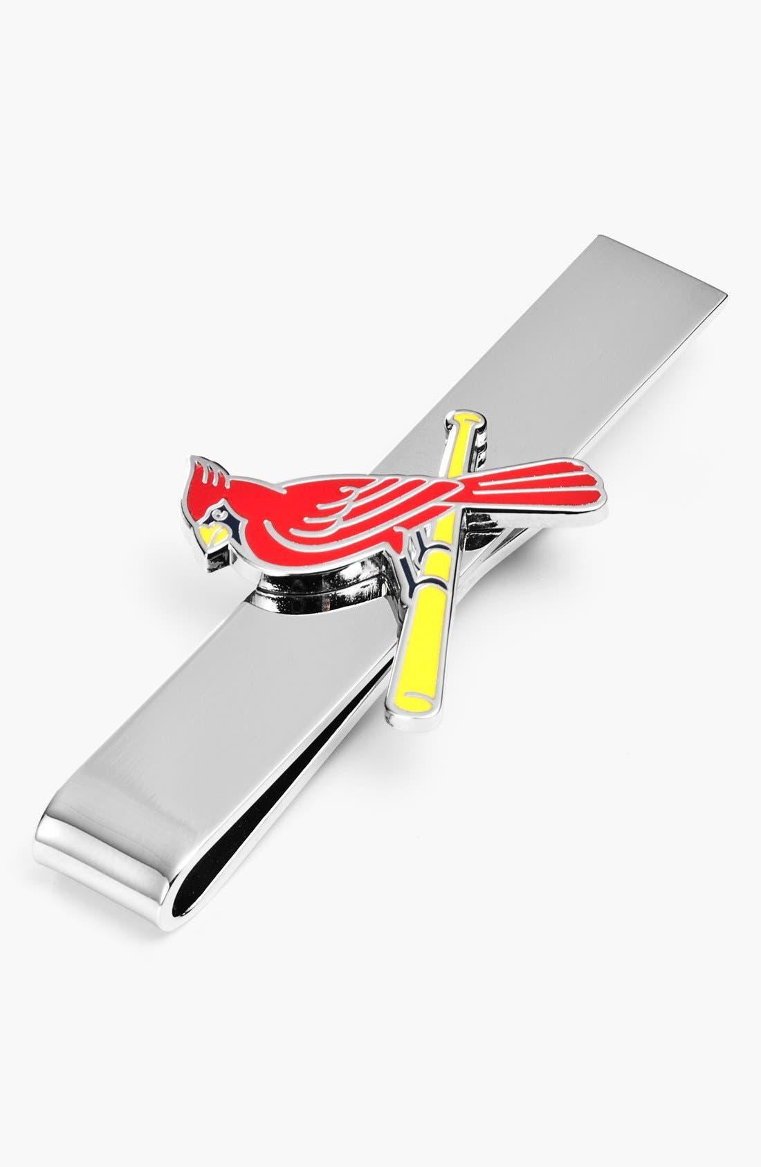 'St. Louis Cardinals' Tie Bar,                         Main,                         color, Silver