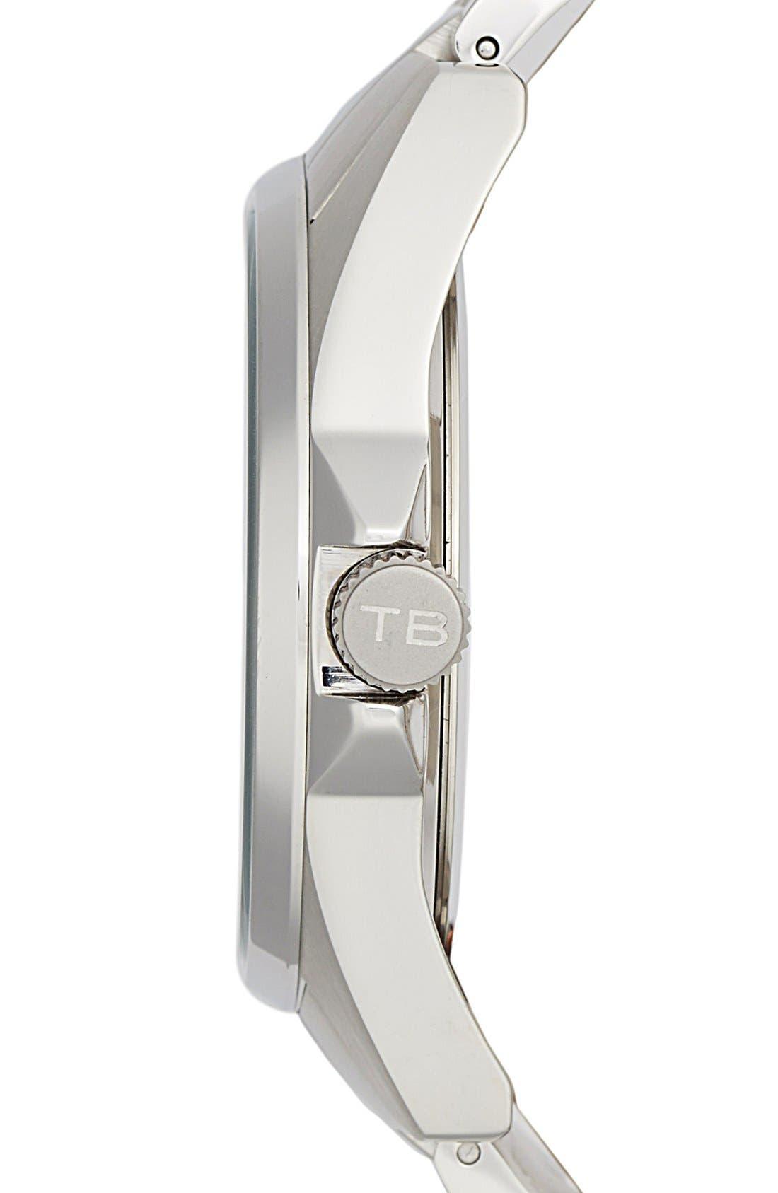 Alternate Image 3  - Ted Baker London Round Bracelet Watch, 42mm