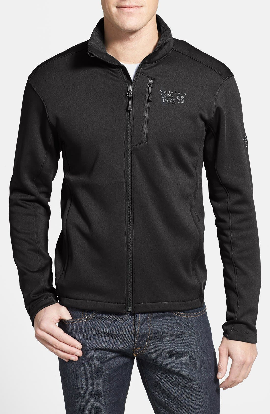 Alternate Image 1 Selected - Mountain Hardwear 'Arlando™' Wind Resistant Full Zip Jacket
