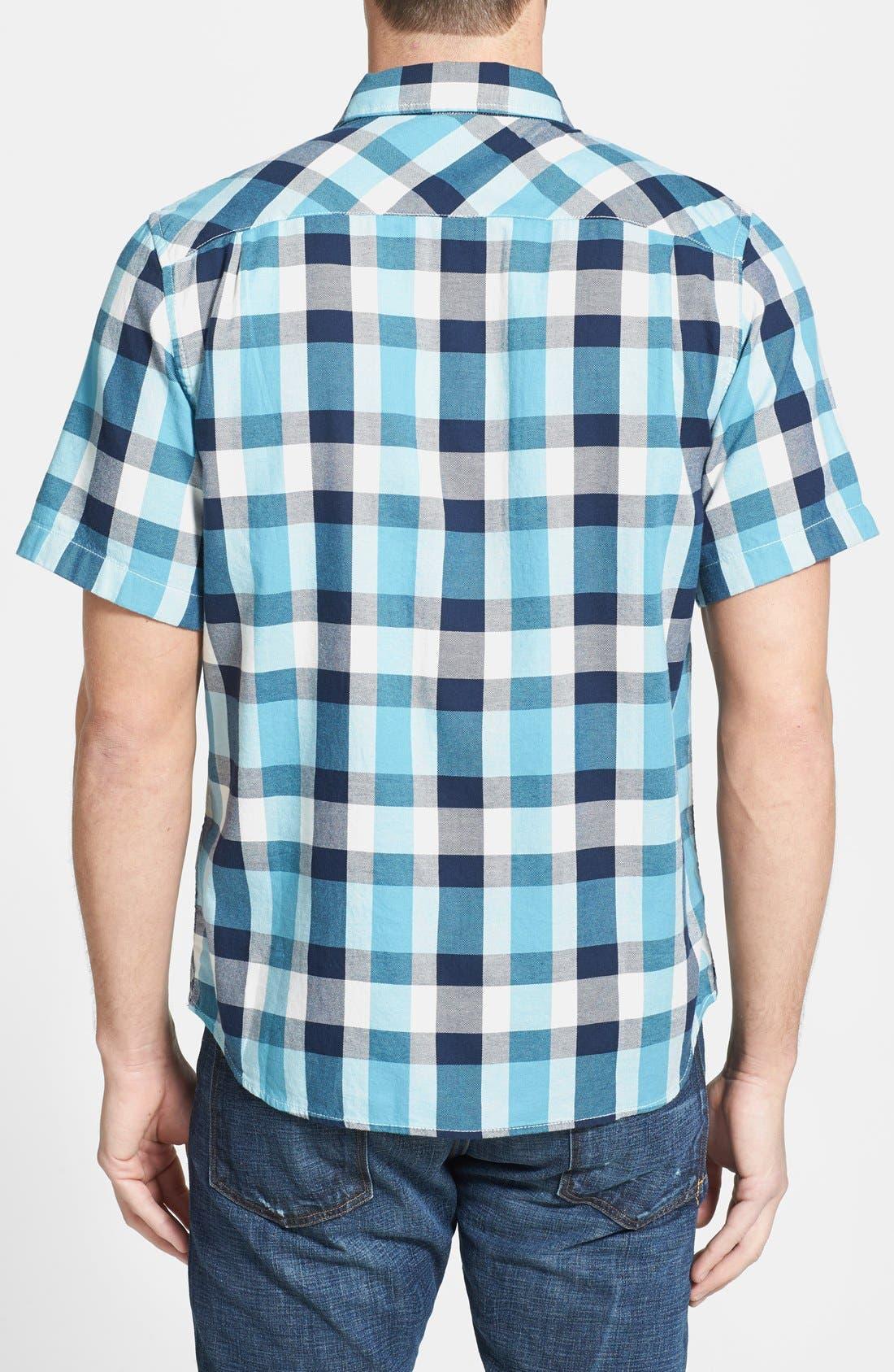 Alternate Image 2  - The North Face 'Gardello' Slim Fit Short Sleeve Check Sport Shirt