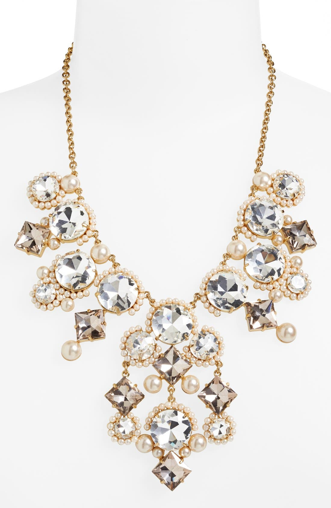 Alternate Image 2  - kate spade new york 'palace gems' bib necklace