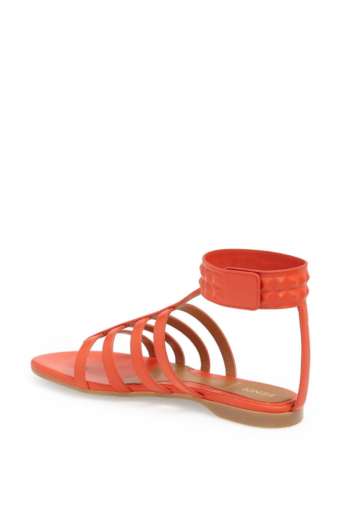 Alternate Image 2  - Fendi 'Diana' Leather Sandal