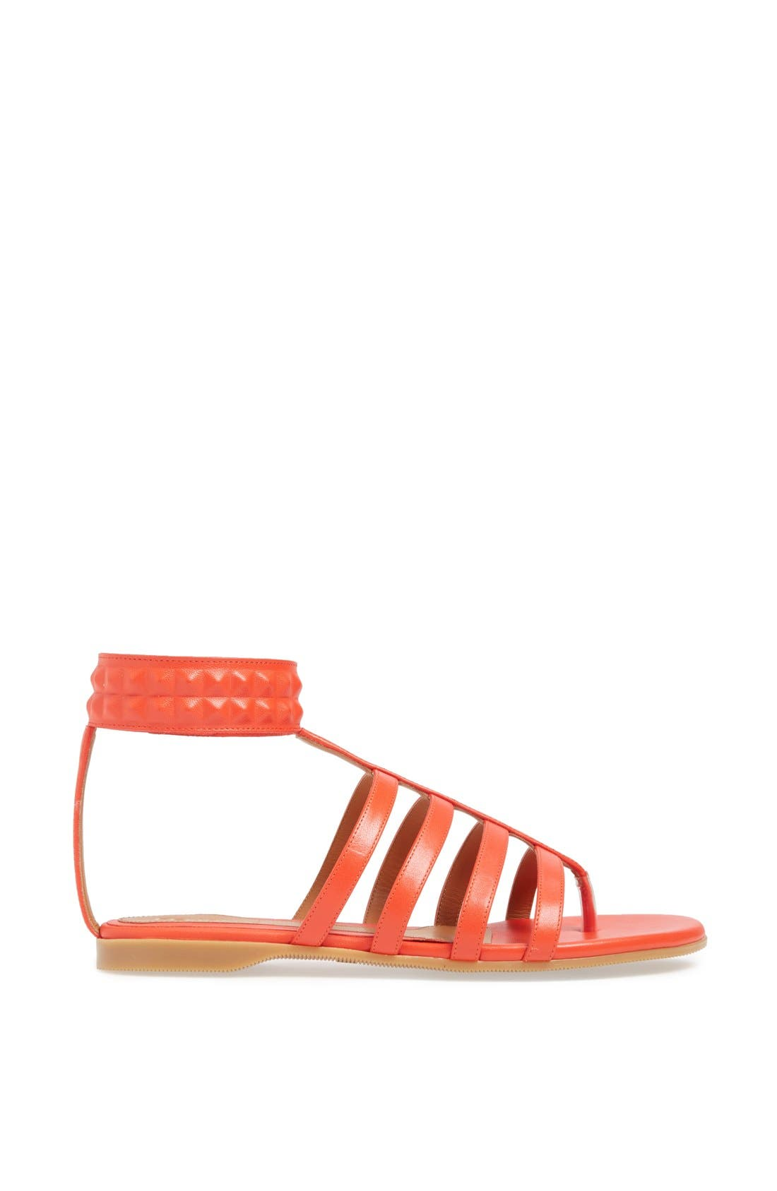 Alternate Image 4  - Fendi 'Diana' Leather Sandal