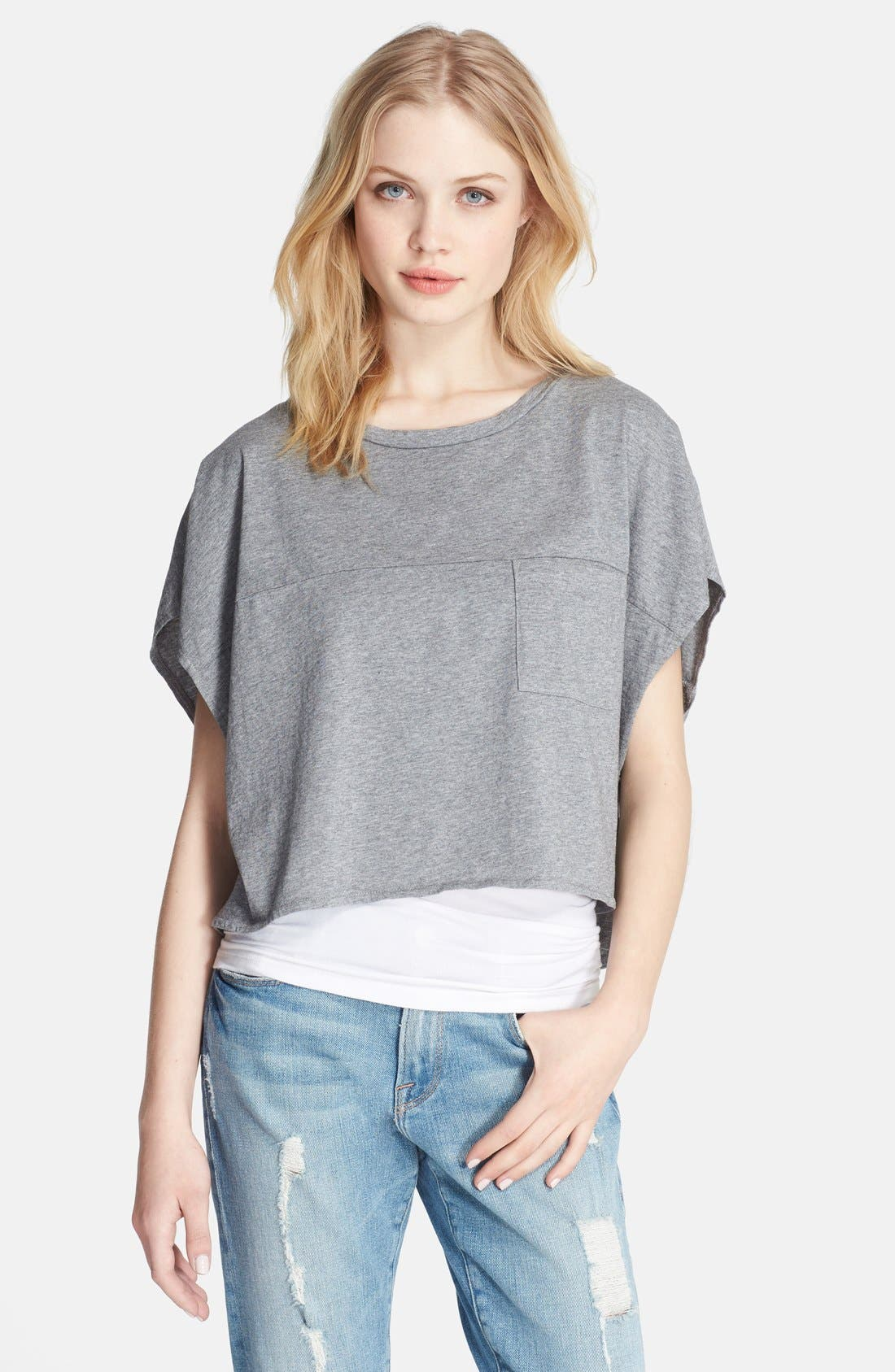 Main Image - Elizabeth and James 'Sia' Crop Tee