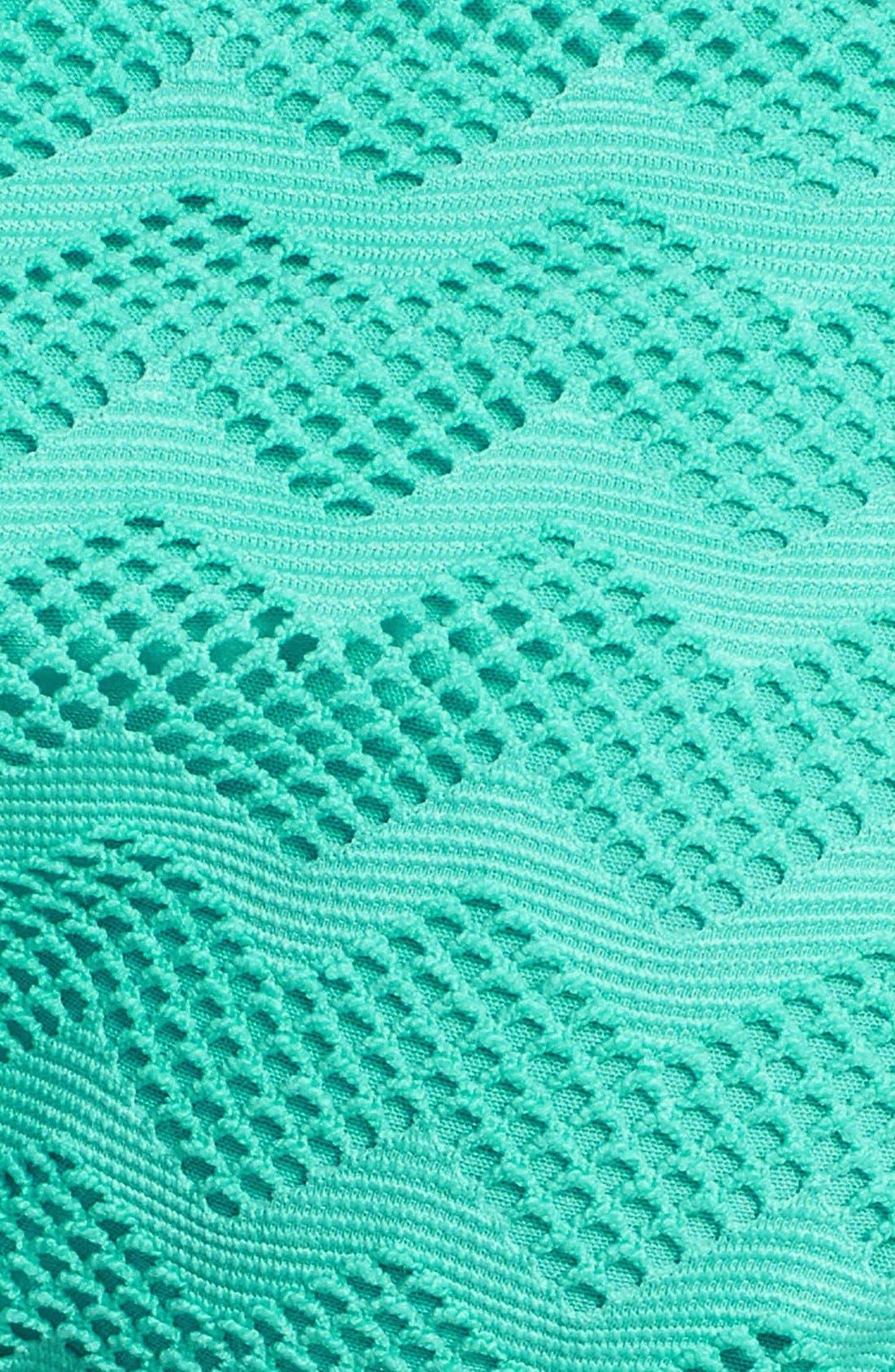 Alternate Image 3  - Roxy 'Making Waves '70s Lowrider' Side Tie Bikini Bottoms