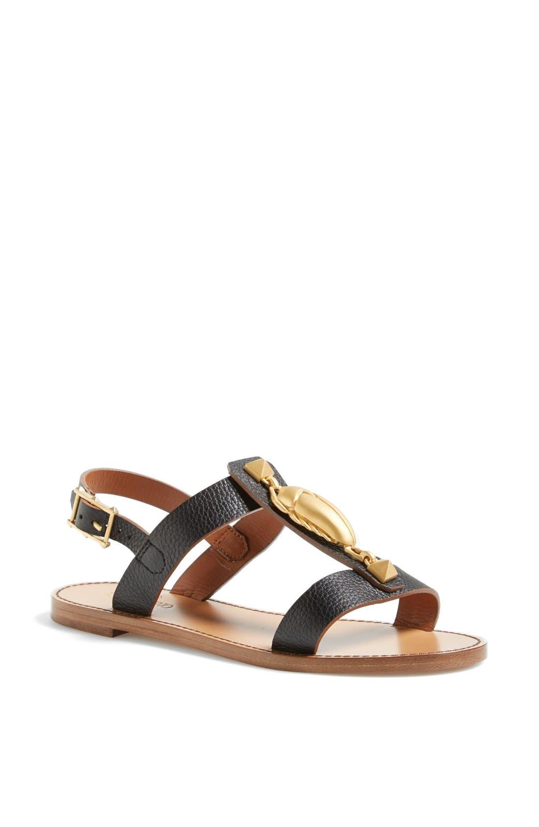 Alternate Image 1 Selected - VALENTINO GARAVANI 'Scarab' Sandal