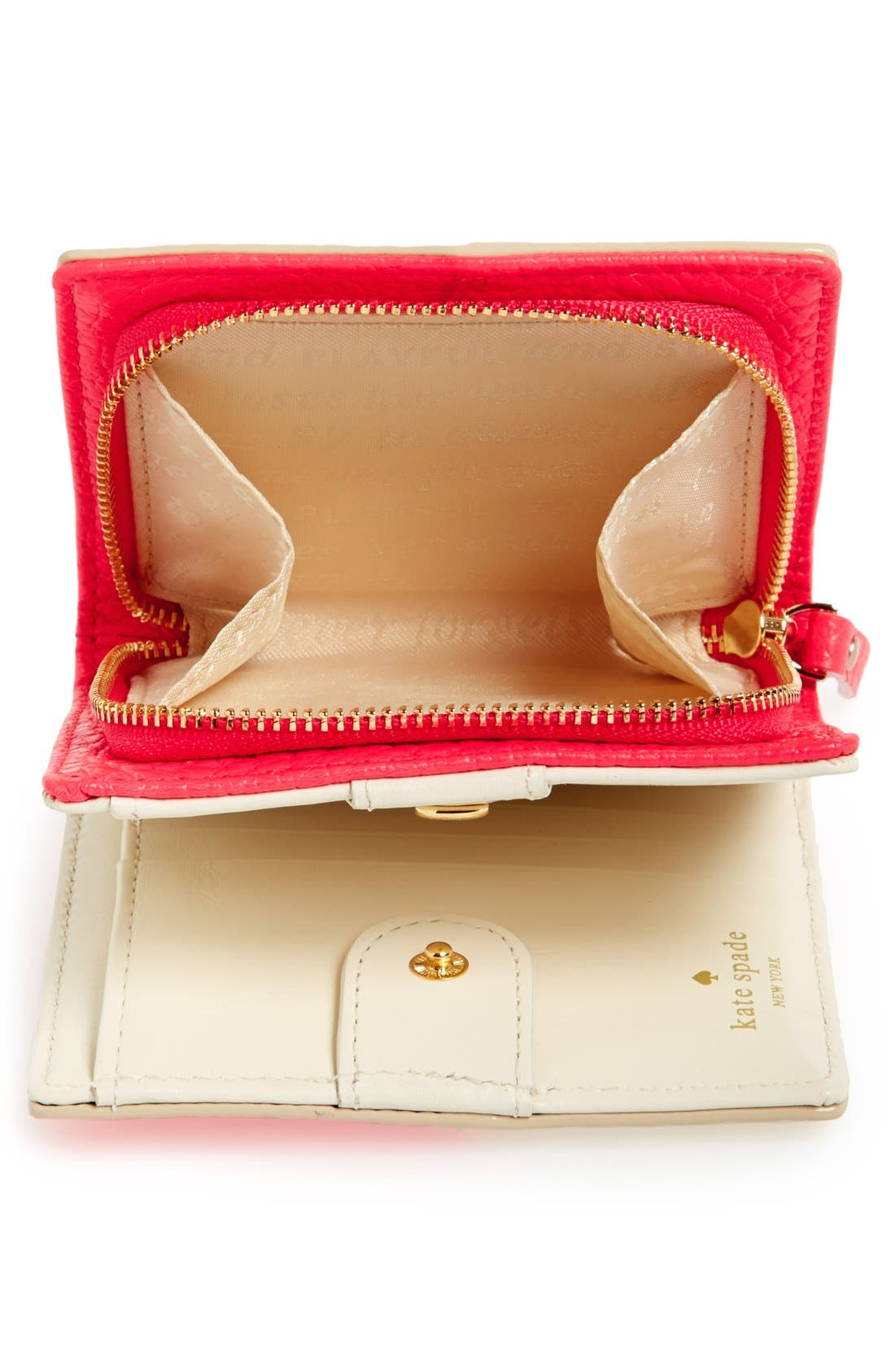 Alternate Image 2  - kate spade new york 'grove court - buttercup' leather wallet
