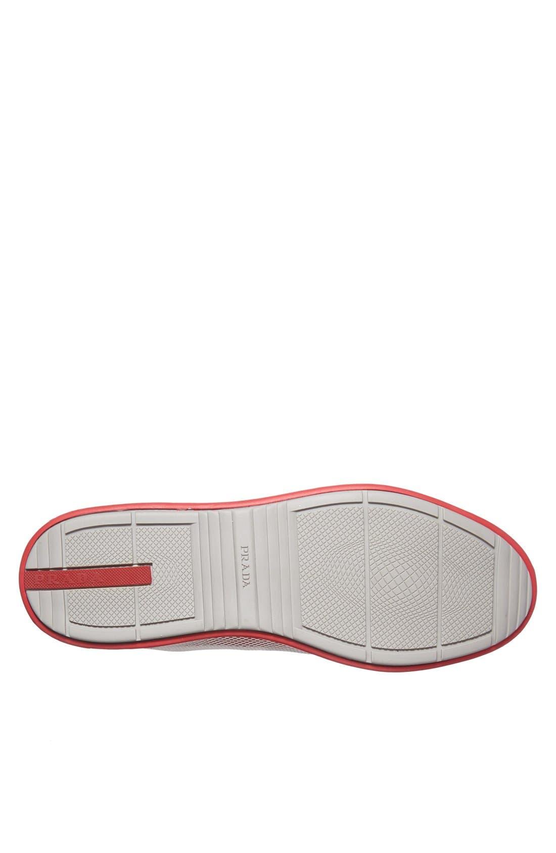 Alternate Image 4  - Prada Mesh Sneaker