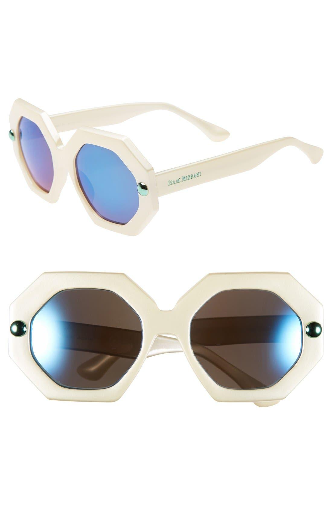 Main Image - Isaac Mizrahi New York 49mm Sunglasses