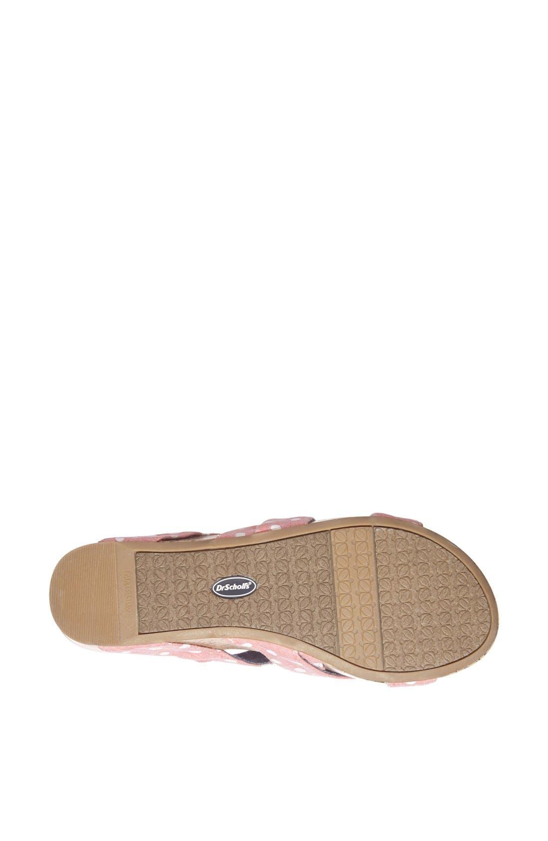 Alternate Image 4  - Dr. Scholl's 'Freshen' Sandal