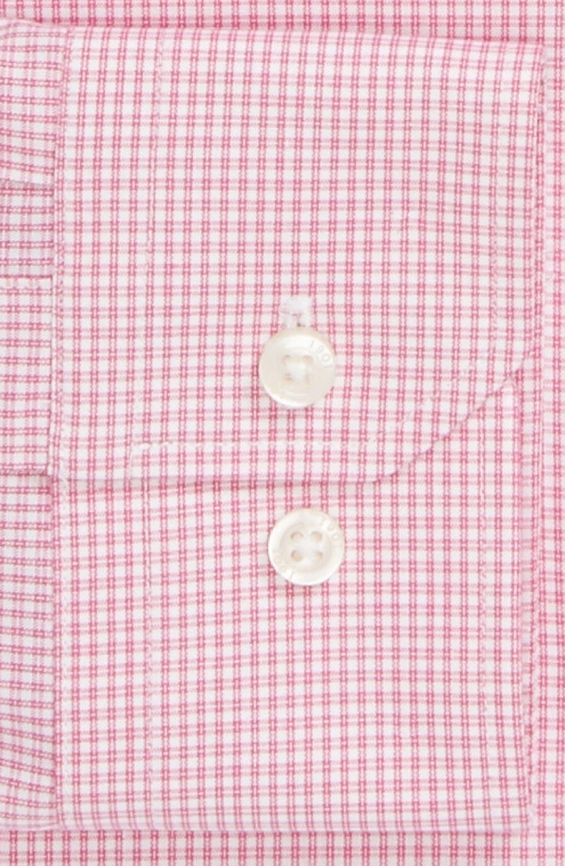 Alternate Image 2  - 1901 Trim Fit Non-Iron Check Dress Shirt