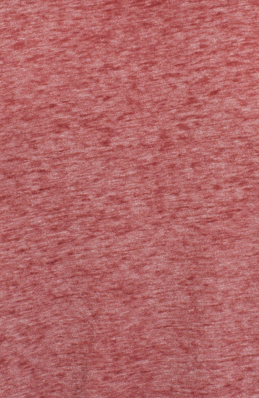 Alternate Image 3  - Red Jacket 'Washington Nationals - Burnout' V-Neck T-Shirt