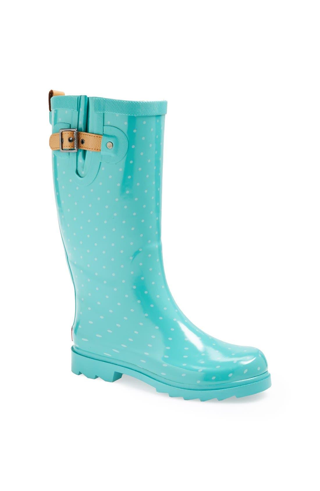 Alternate Image 1 Selected - Chooka 'Posh Dot' Rain Boot