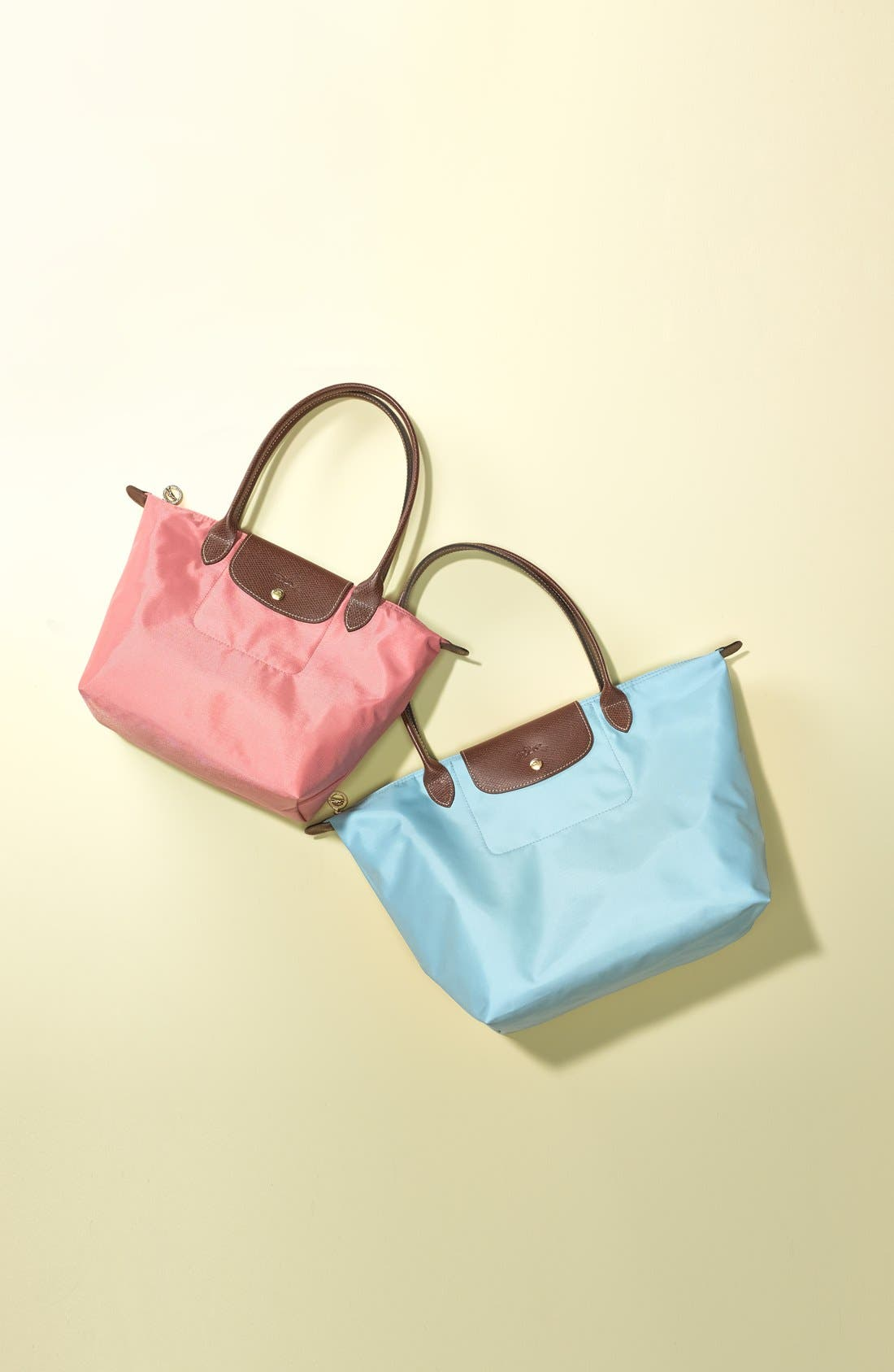 'Small Le Pliage' Tote,                             Alternate thumbnail 8, color,