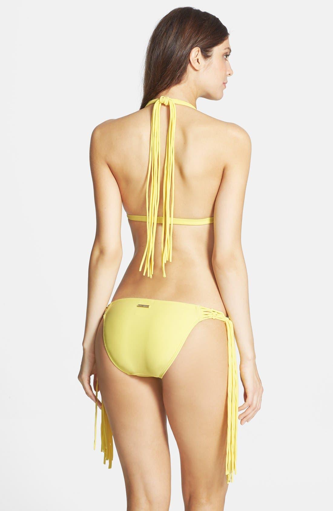Alternate Image 4  - Vince Camuto 'Caribbean Sunset' Halter Bikini Top
