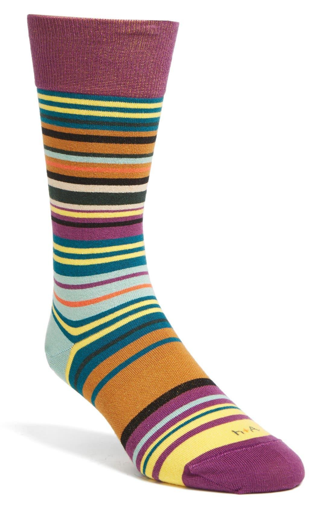 Main Image - hook + ALBERT 'Heat Wave' Socks