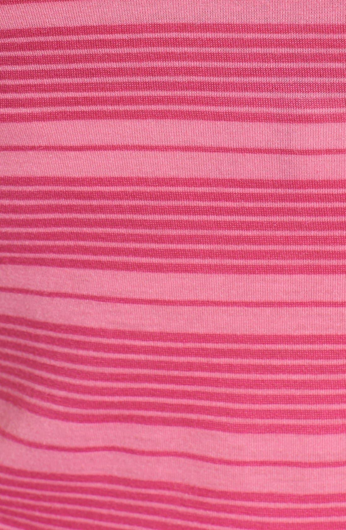 Alternate Image 3  - Honeydew Intimates 'Ahna Shadow' Lace Detail Stripe Chemise