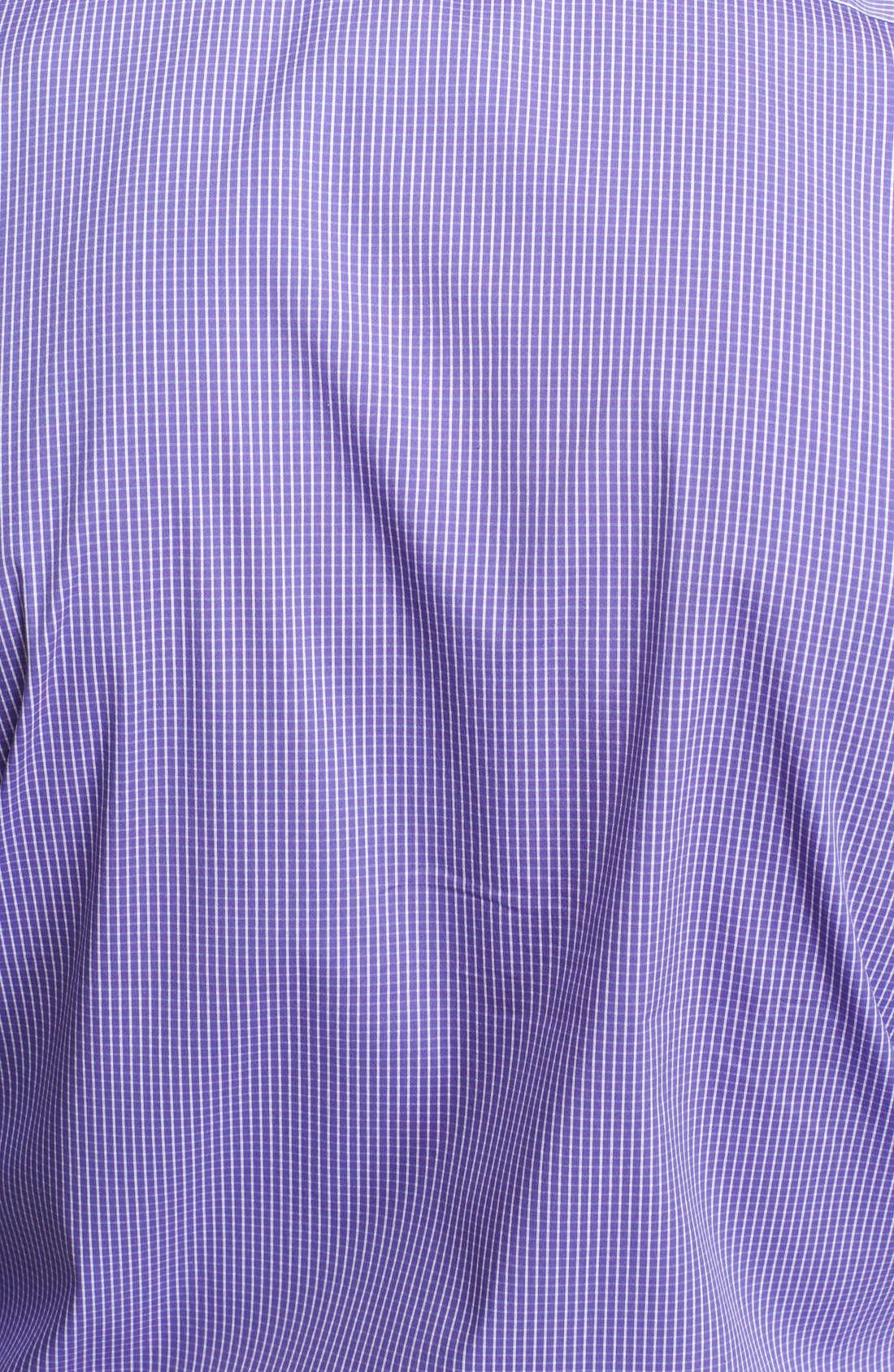 Alternate Image 2  - Ralph Lauren Black Label Trim Fit Stripe Dress Shirt