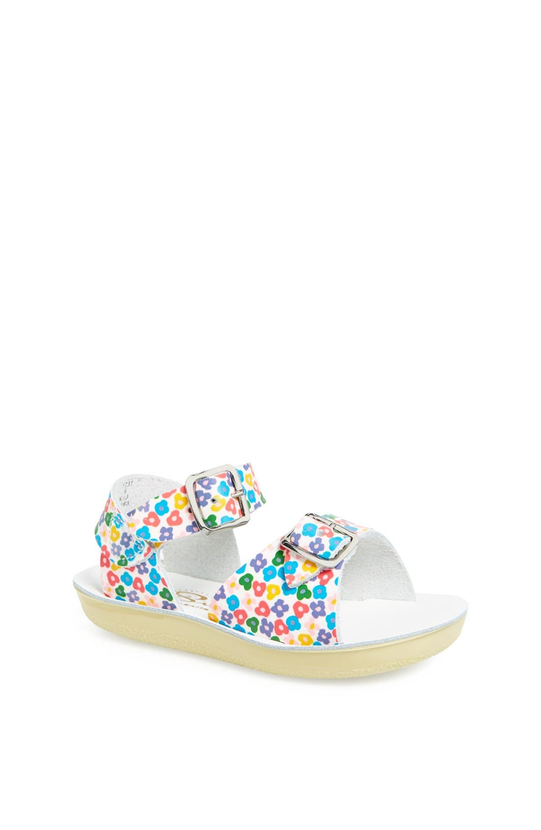 Alternate Image 1 Selected - Salt Water Sandals by Hoy 'Surfer' Sandal (Baby & Walker)