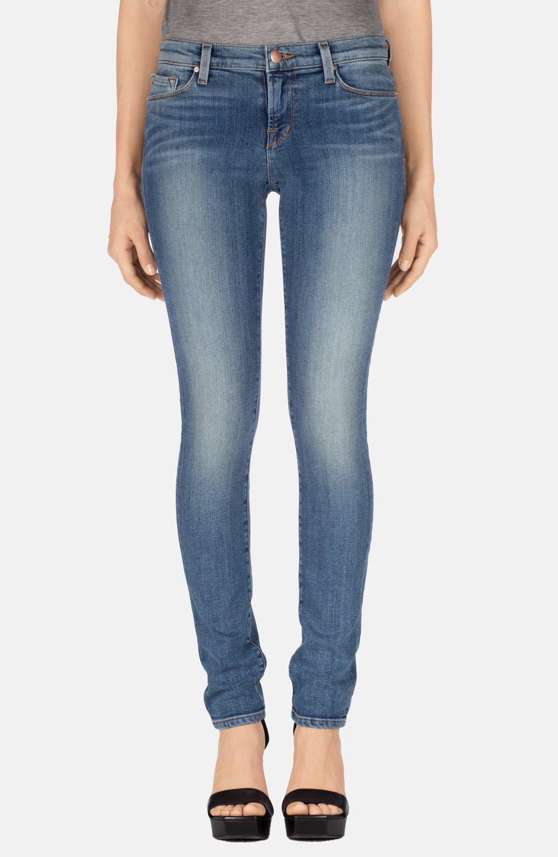 Main Image - J Brand 'Rail' Mid Rise Straight Leg Jeans (Tone)