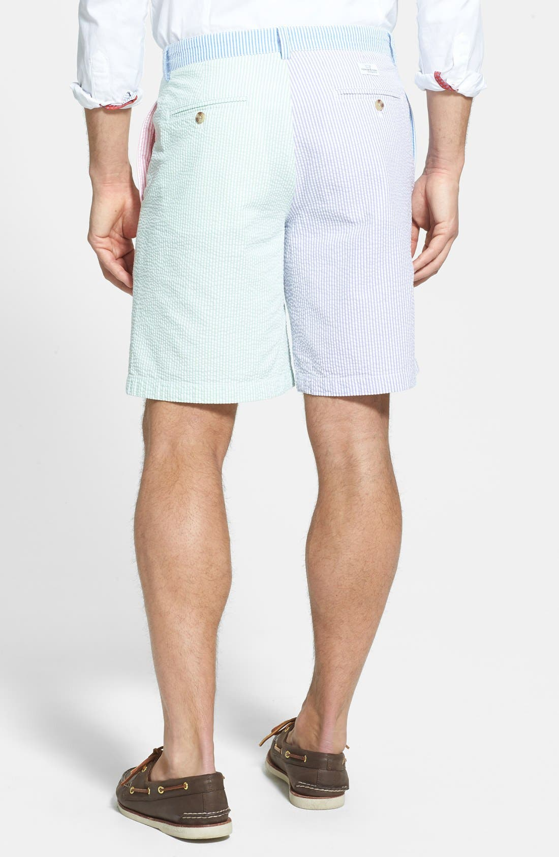 Alternate Image 2  - Vineyard Vines Multicolor Seersucker Shorts