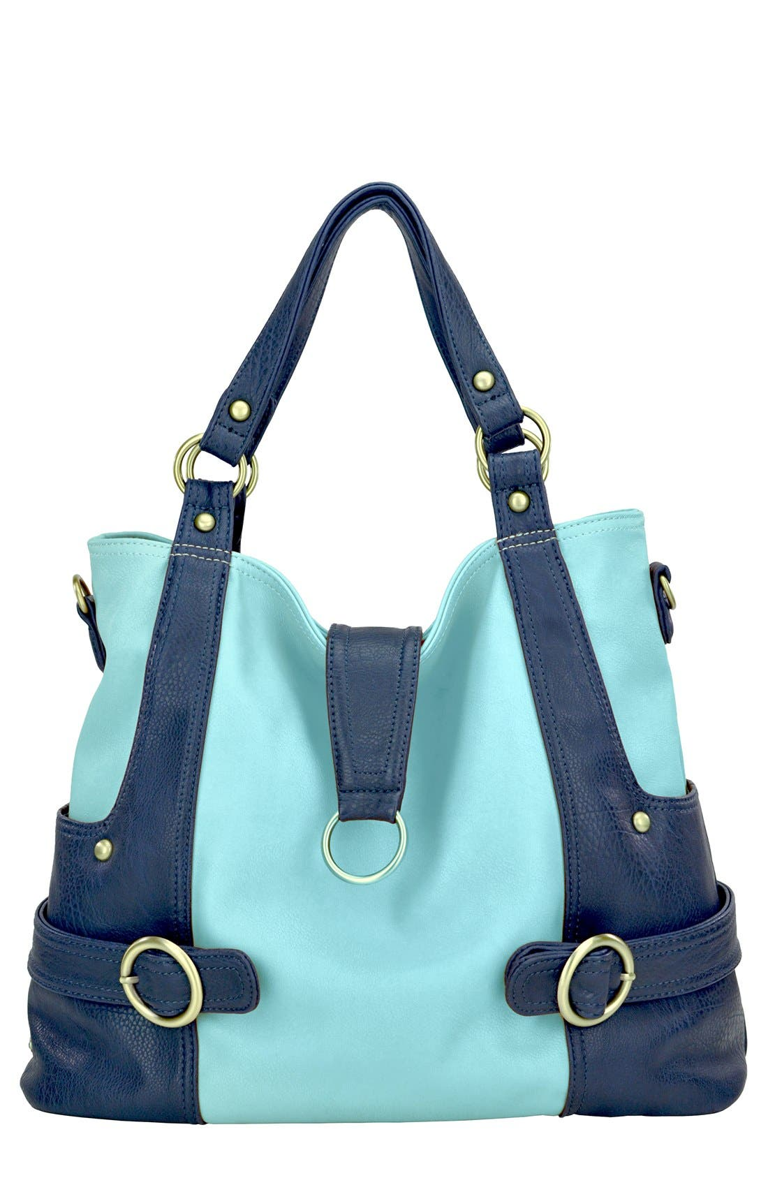 Alternate Image 1 Selected - Timi & Leslie 'Hannah' Faux Leather Diaper Bag