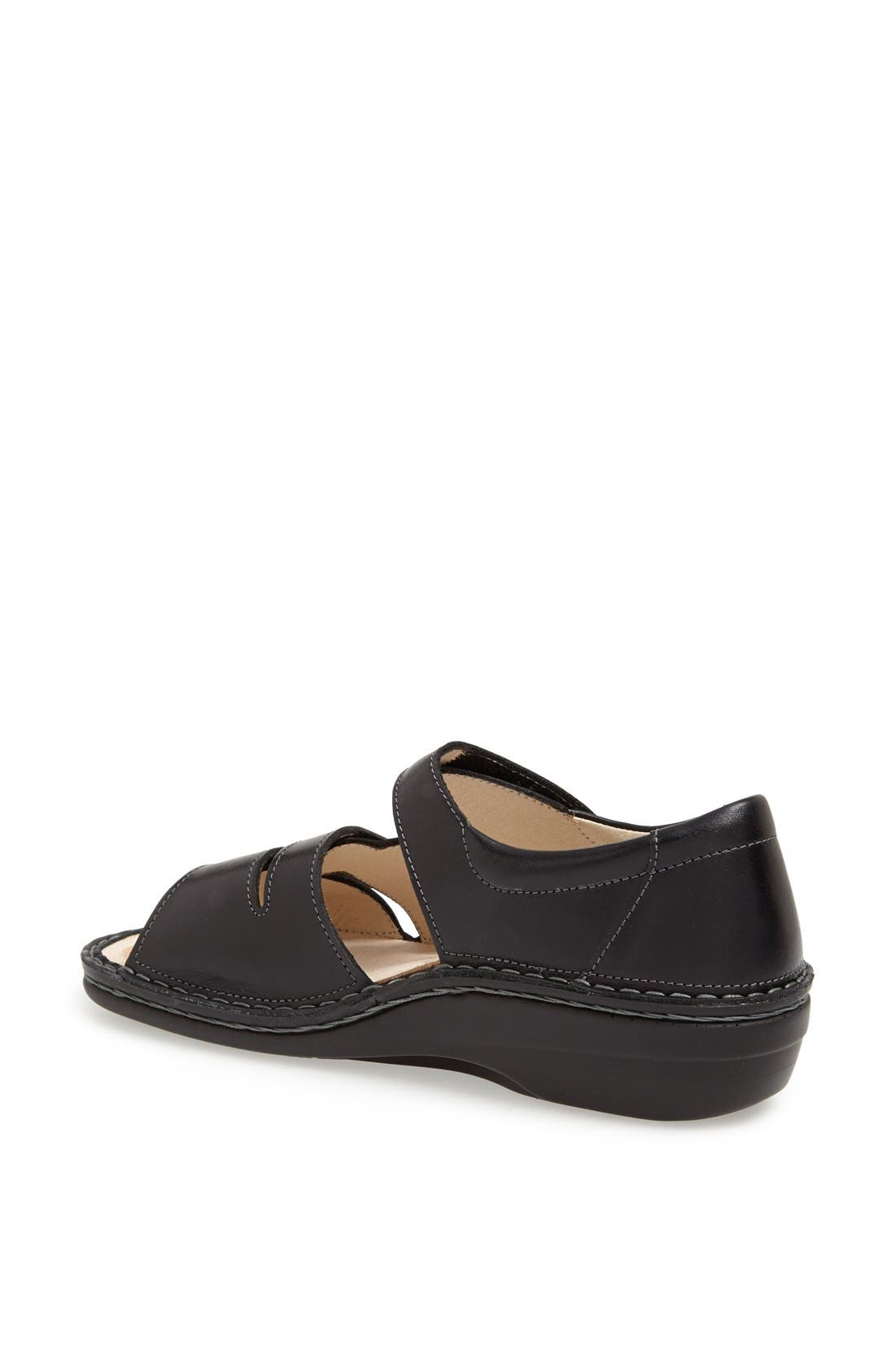 'Sintra' Sandal,                             Alternate thumbnail 2, color,                             Black