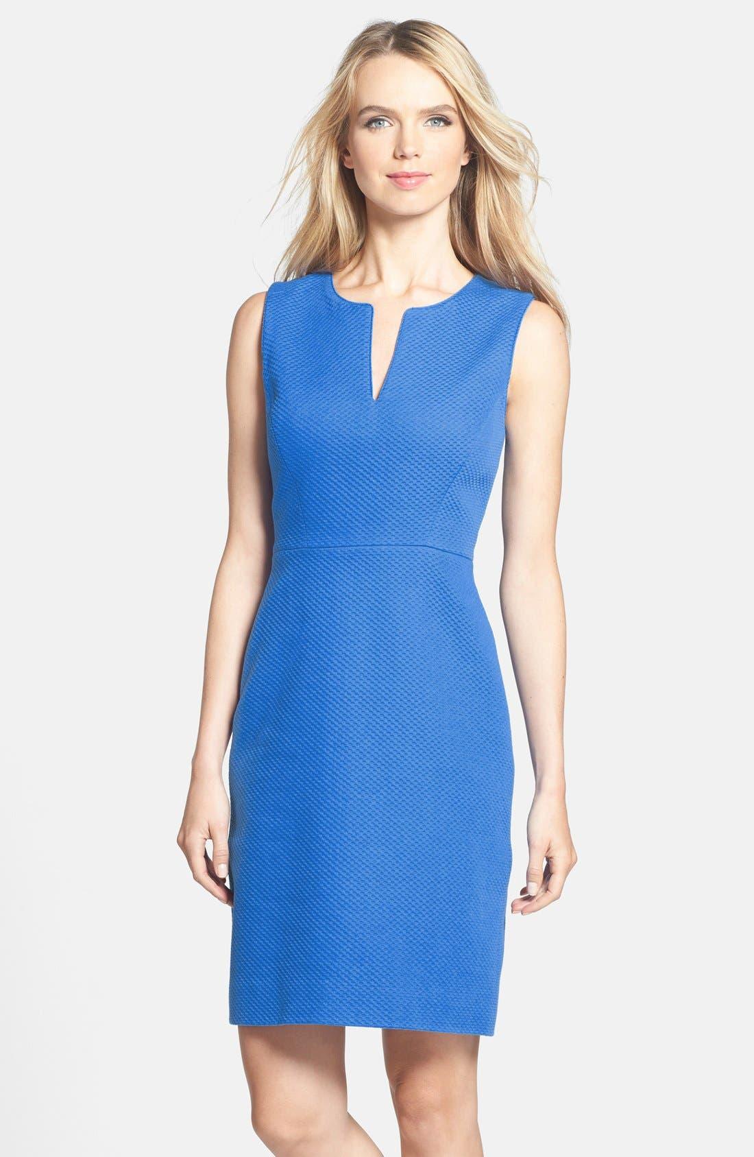 Alternate Image 1 Selected - kate spade new york 'emrick' cotton sheath dress