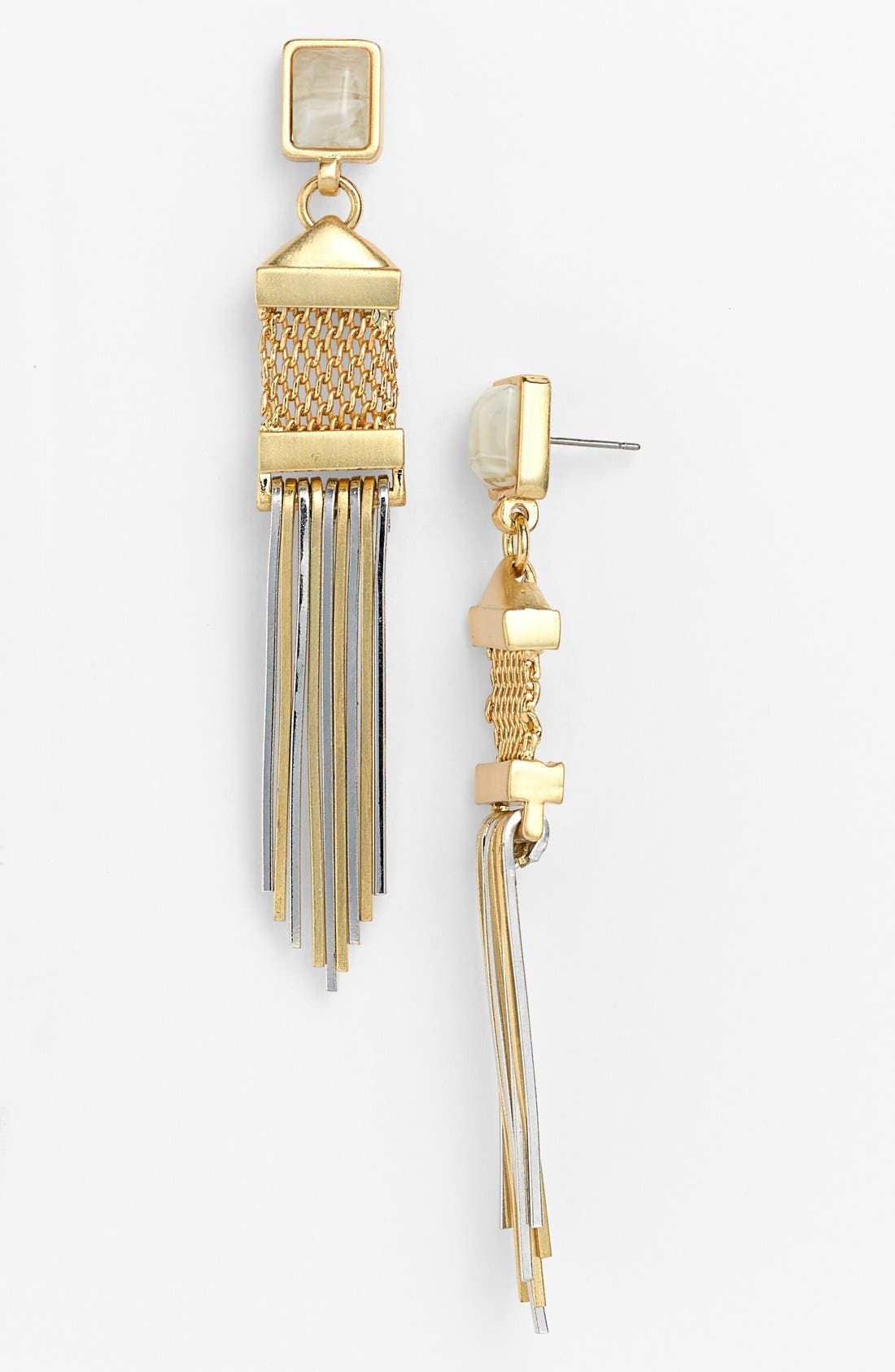 Alternate Image 1 Selected - Vince Camuto 'Classic Maya' Linear Earrings