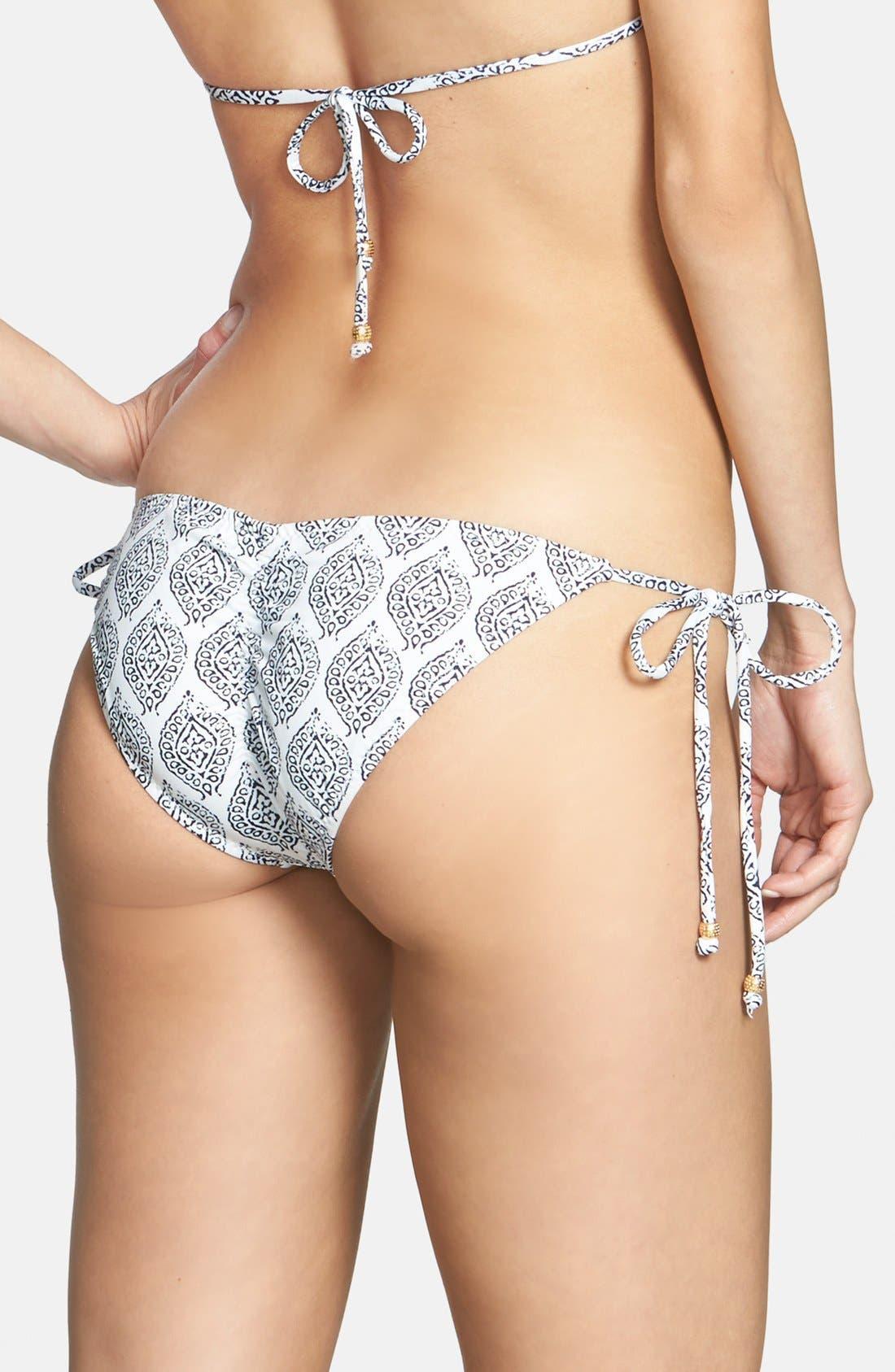 Main Image - Eberjey 'Batik Batik Kate' Side Tie Bikini Bottoms