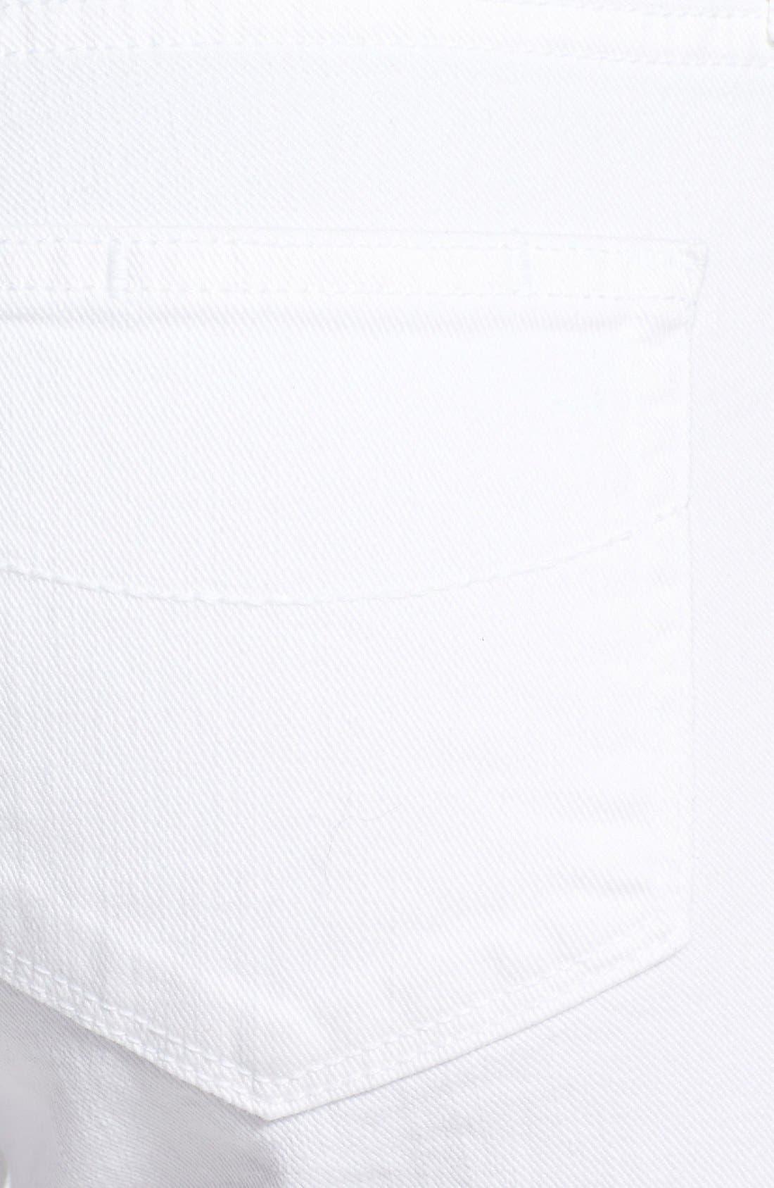 Alternate Image 3  - PAIGE 'Jax' Stretch Denim Bermuda Shorts (Optic White)