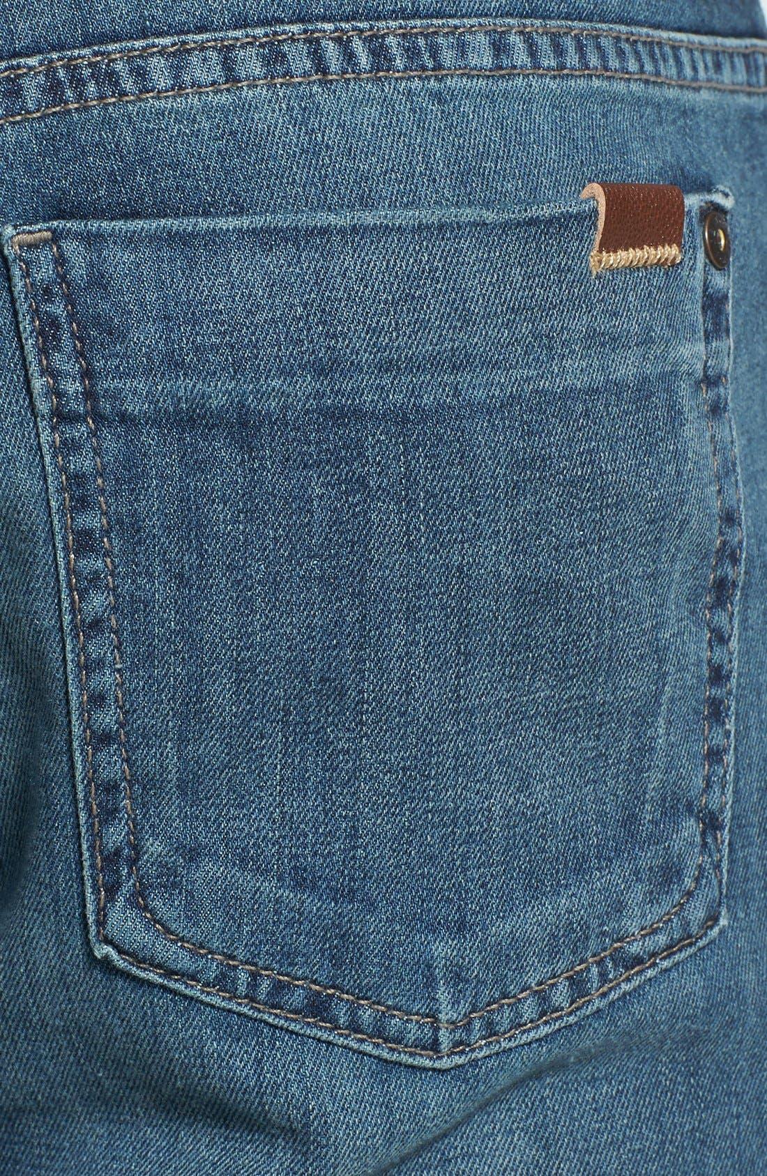 Alternate Image 4  - Fidelity Denim '5011' Straight Leg Jeans (Drifter Blue)