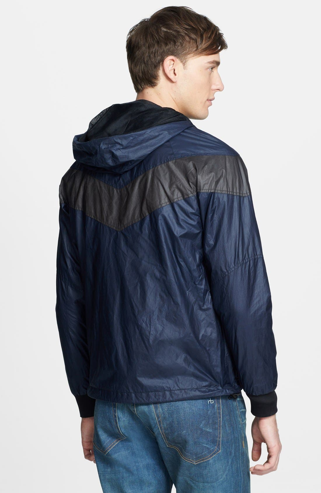 Alternate Image 2  - rag & bone 'Terrace' Lightweight Hooded Jacket