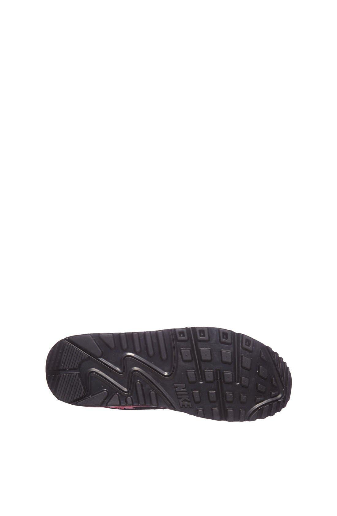 Alternate Image 4  - Nike 'Air Max 90 LE' Running Shoe (Big Kid)