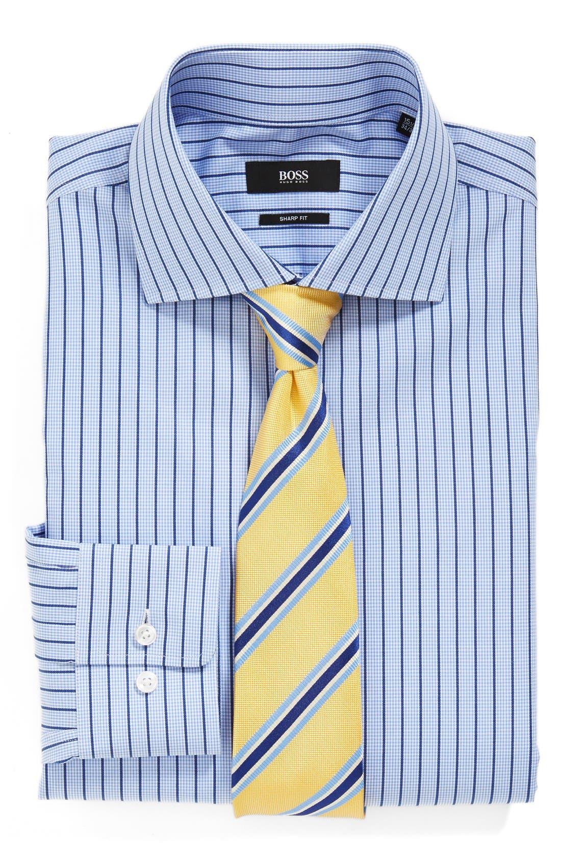 Alternate Image 3  - BOSS HUGO BOSS 'Miles' Sharp Fit Dress Shirt
