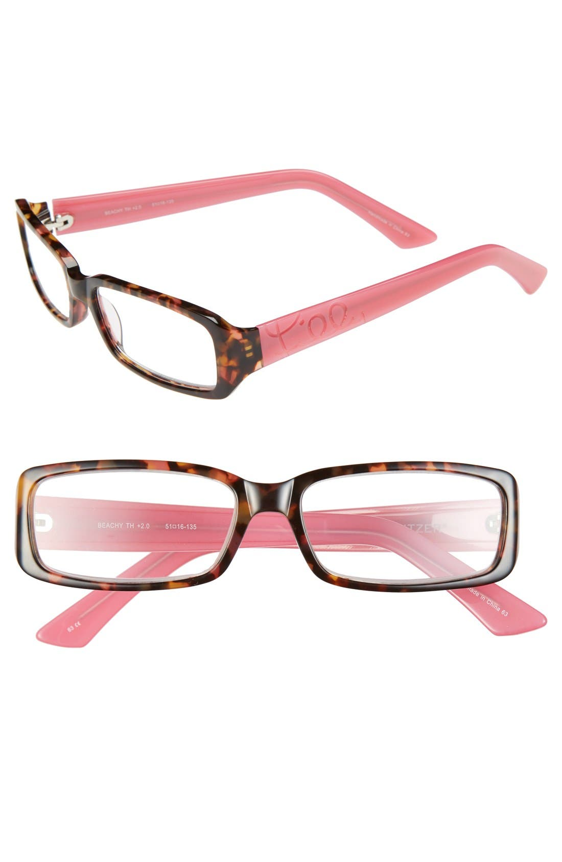Alternate Image 1 Selected - Lilly Pulitzer® 'Beachy' 51mm Reading Glasses