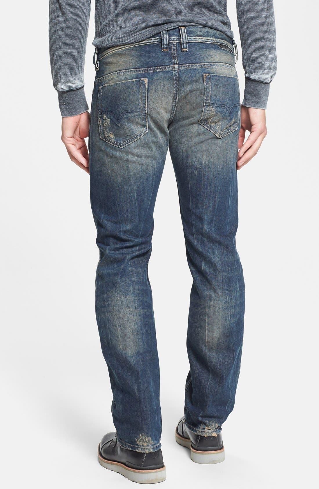 Alternate Image 2  - DIESEL® 'Safado' Slim Fit Jeans (0608C)