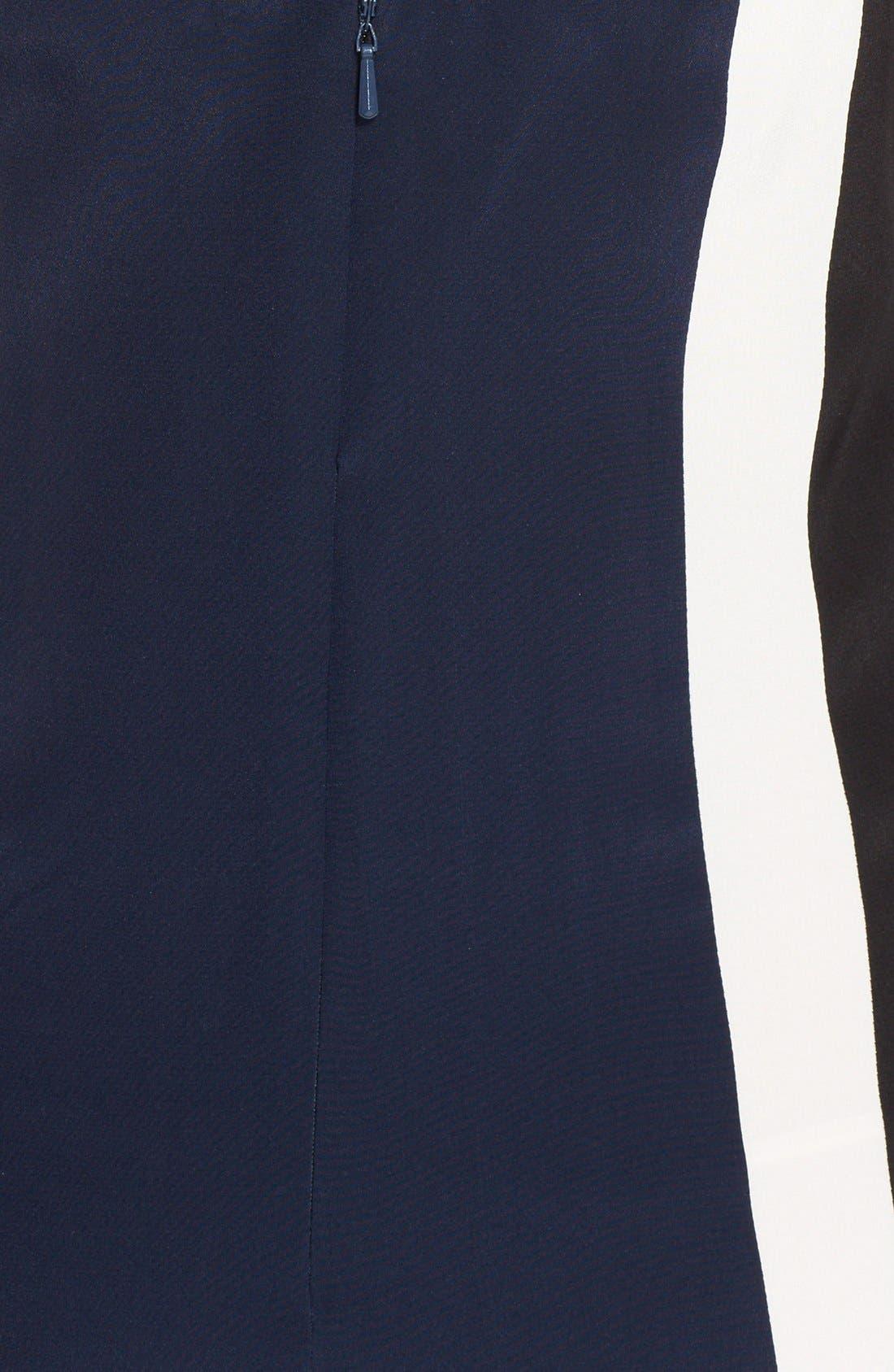 Alternate Image 3  - Jay Godfrey 'Simons' Paneled Silk Maxi Dress