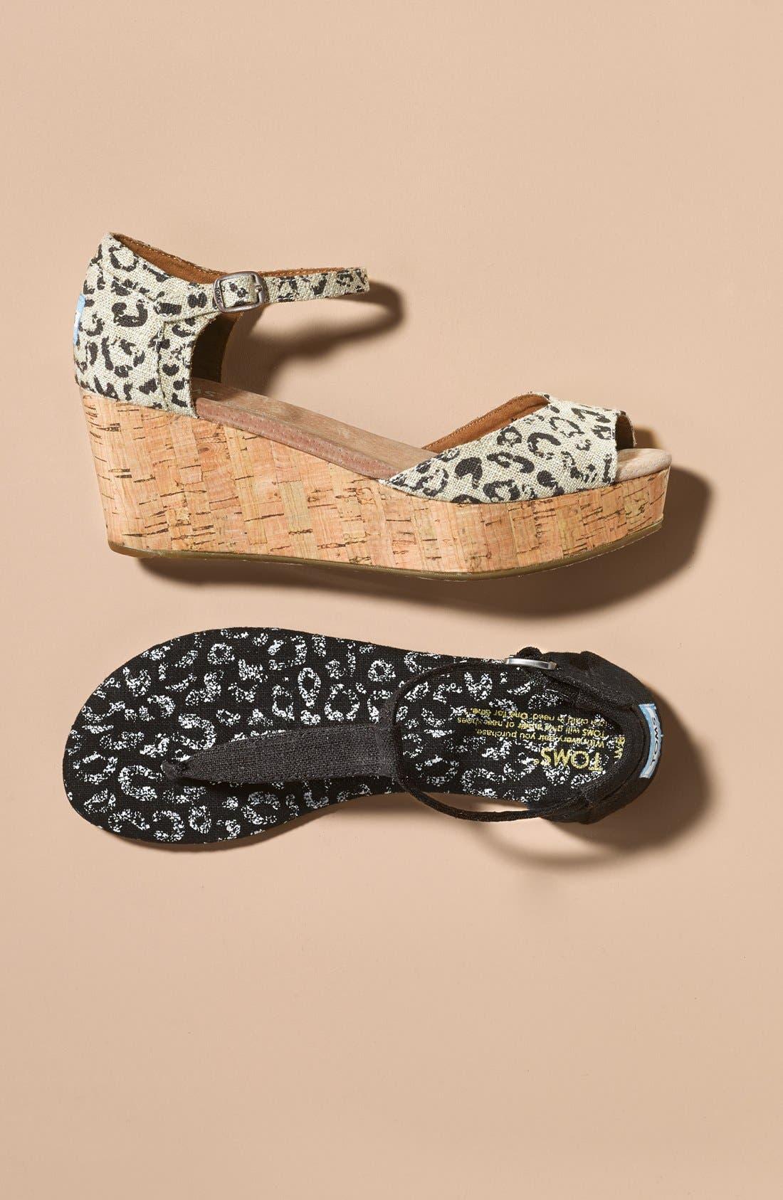 Alternate Image 5  - TOMS 'Playa' Thong Sandal (Women)